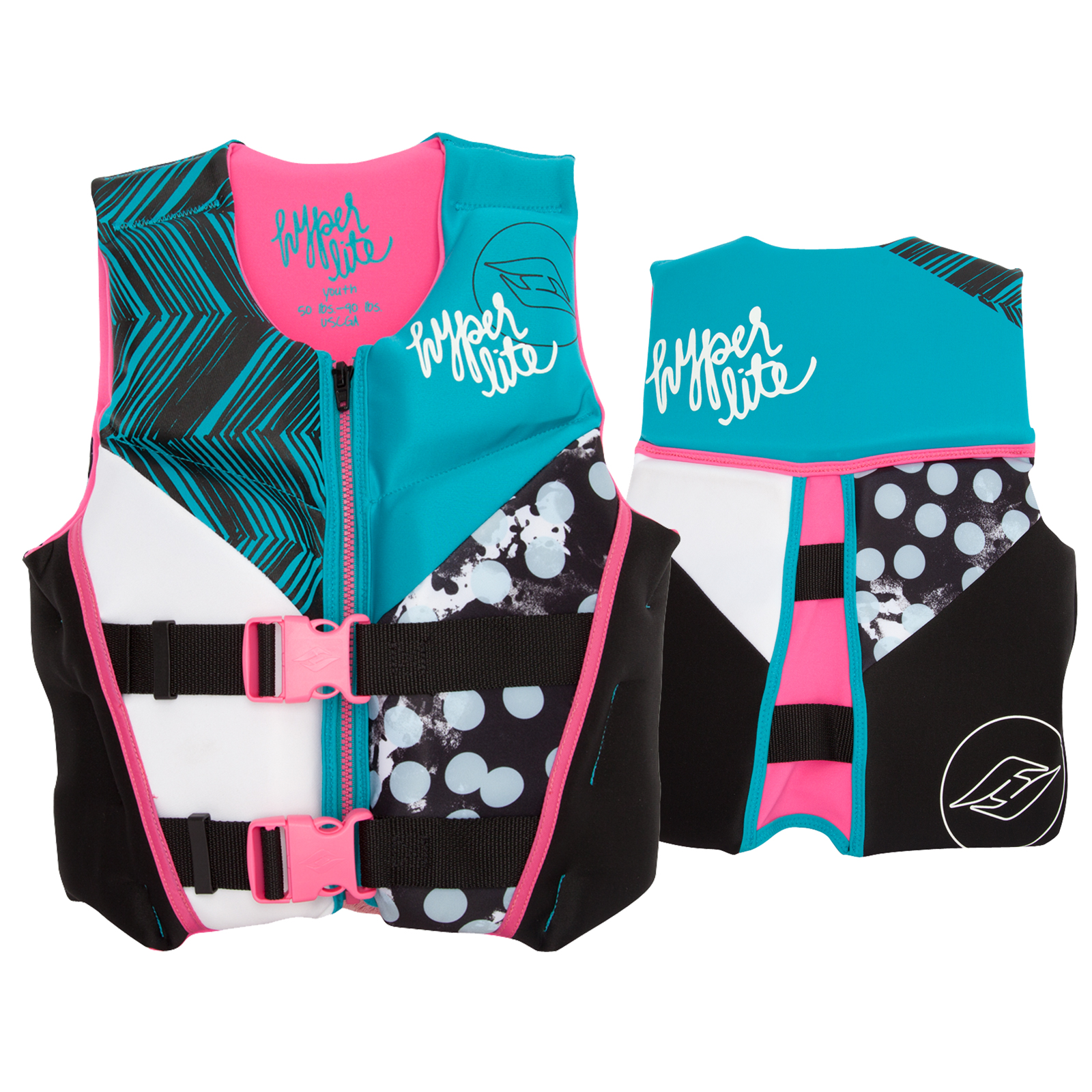 GIRLZ YOUTH INDY NEO VEST LARGE HYPERLITE 2017