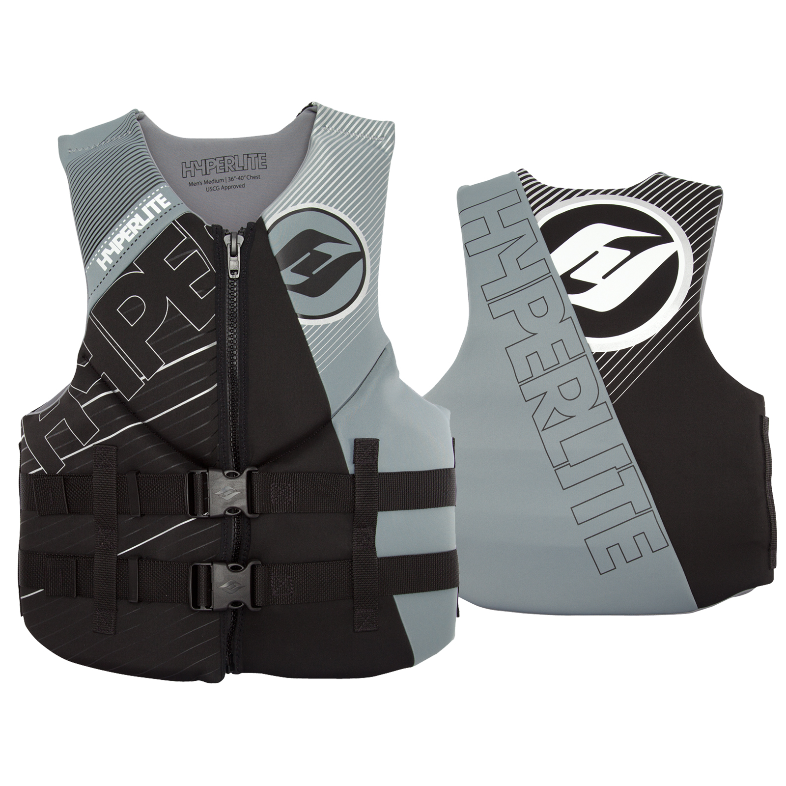 MENS INDY NEO VEST - GREY HYPERLITE 2017