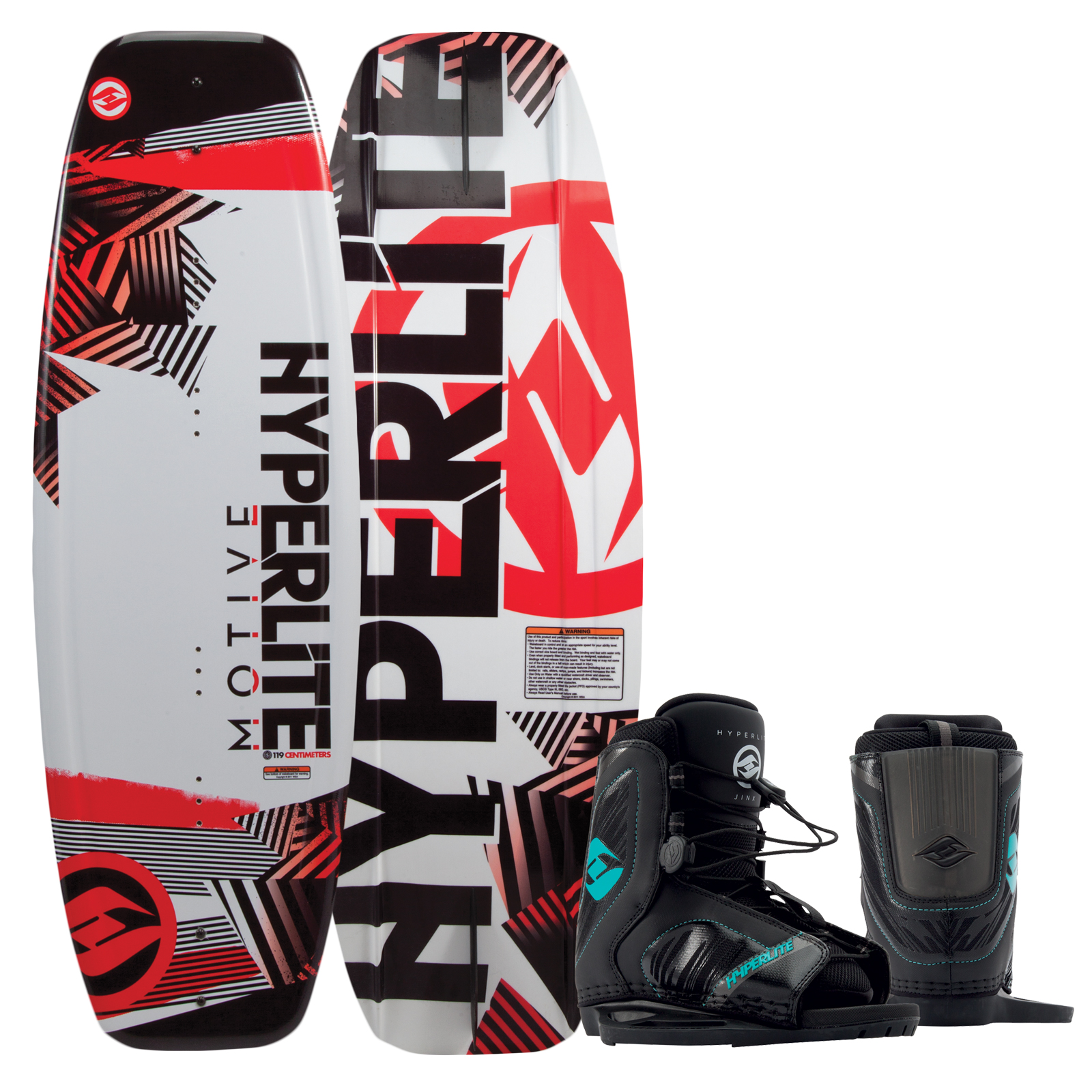 MOTIVE 119 JR. W/REMIX BOYS EU 29-32.5/US K12/Y2 PACKAGE HYPERLITE 2017