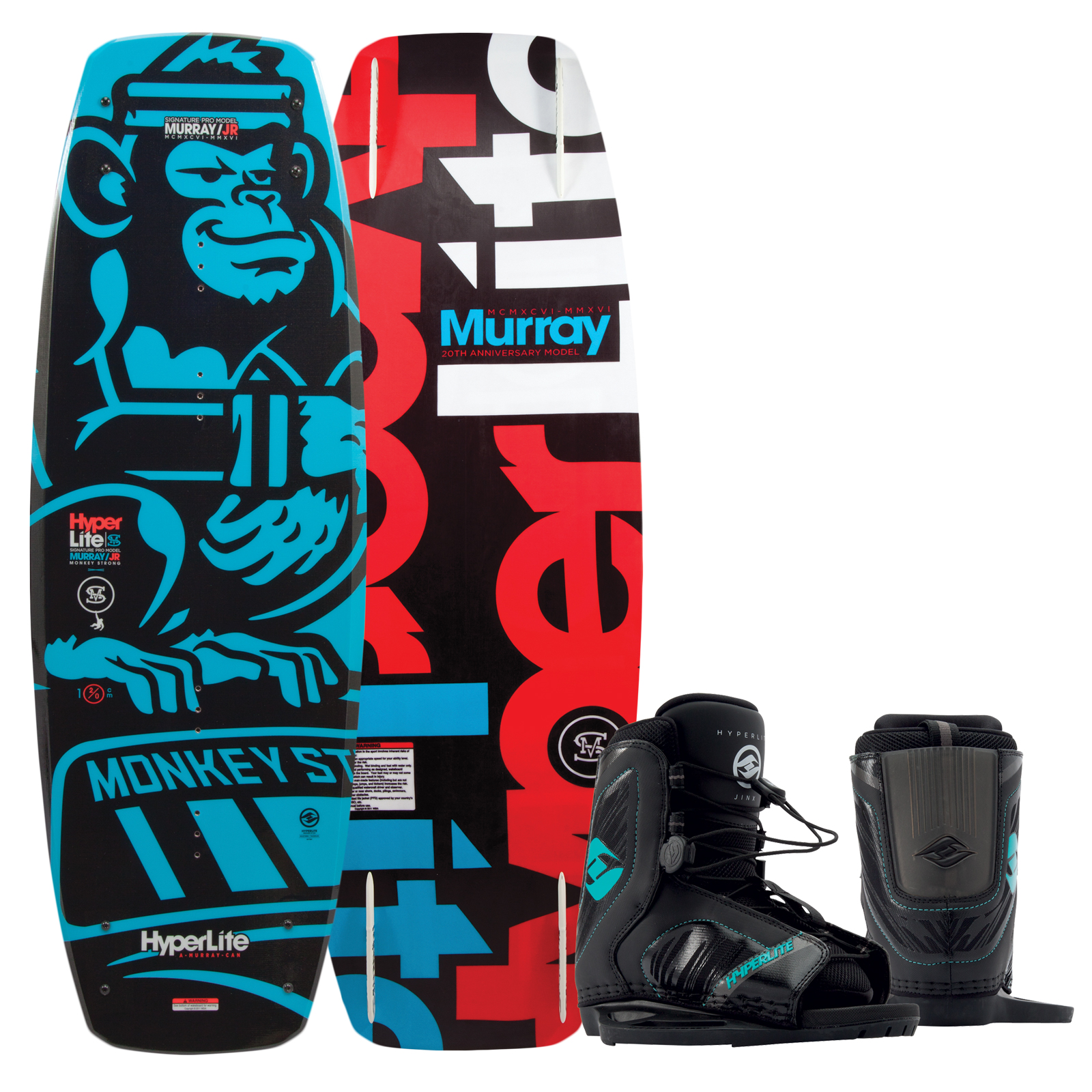 MURRAY 120 W/REMIX BOYS EU 29-32.5/US K12/Y2 PACKAGE HYPERLITE 2017
