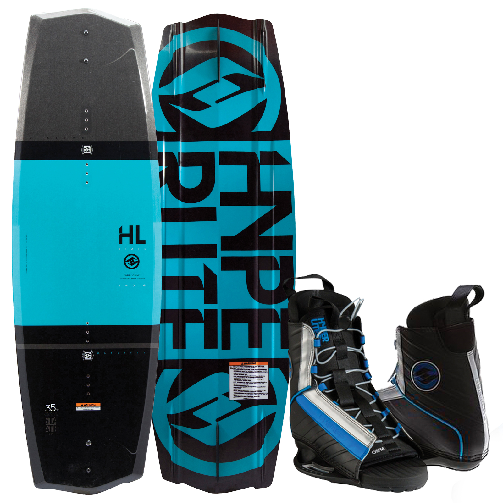 STATE 2.0 135 W/SPIN OSFA PACKAGE HYPERLITE 2017