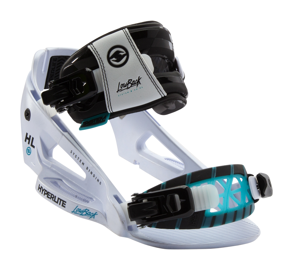 SYSTEM LOWBACK BINDING - WHITE HYPERLITE 2017