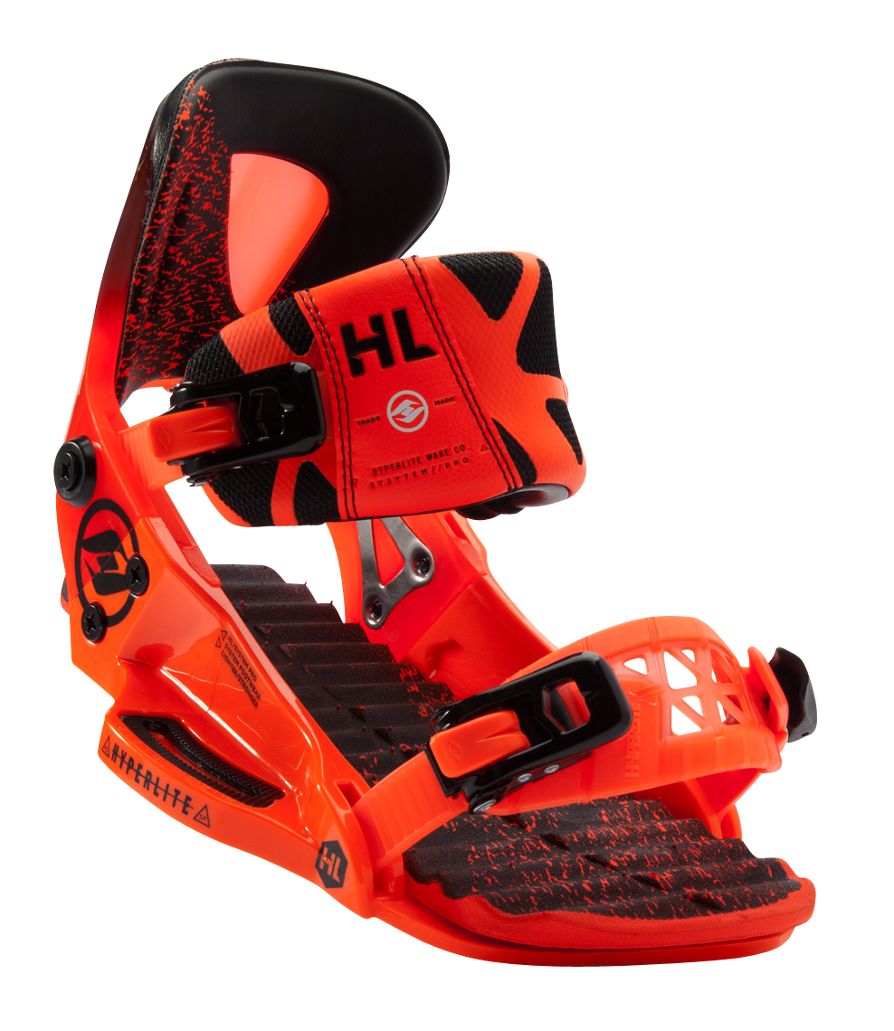 THE SYSTEM BINDING PRO  - ORANGE HYPERLITE 2017