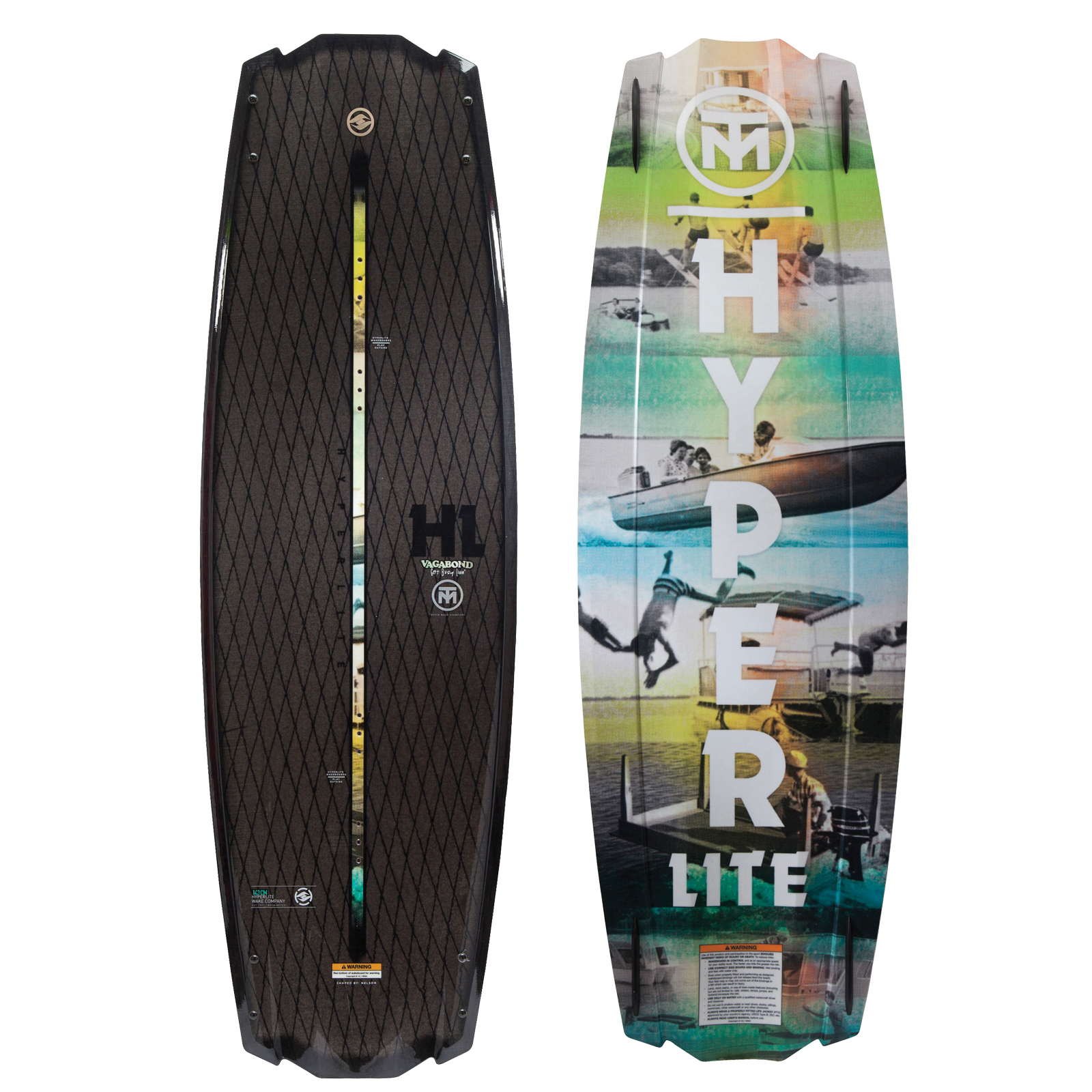 VAGABOND 142 WAKEBOARD - SHOWROOM MODEL HYPERLITE 2017