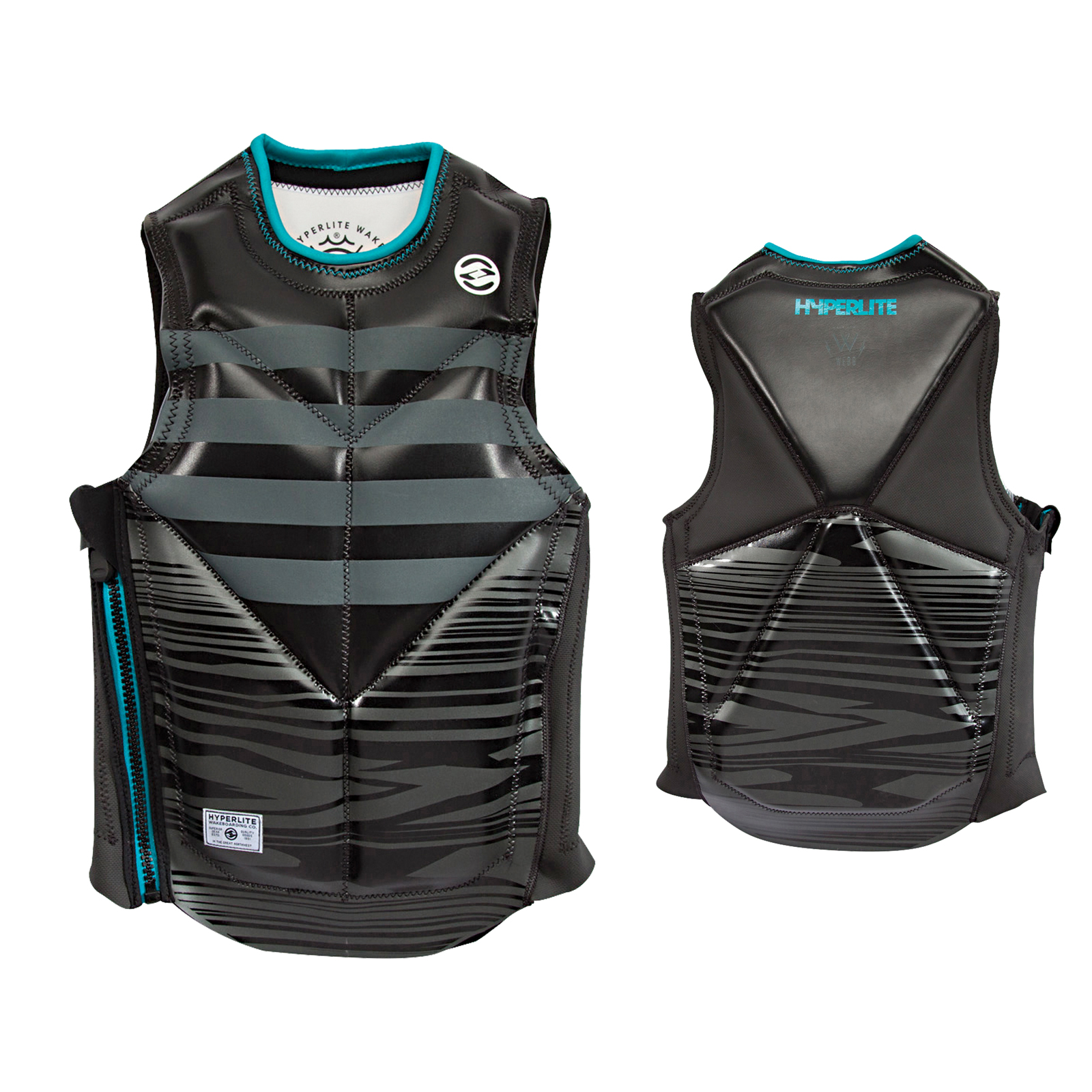 WEBB S/E FLASH VEST HYPERLITE 2017