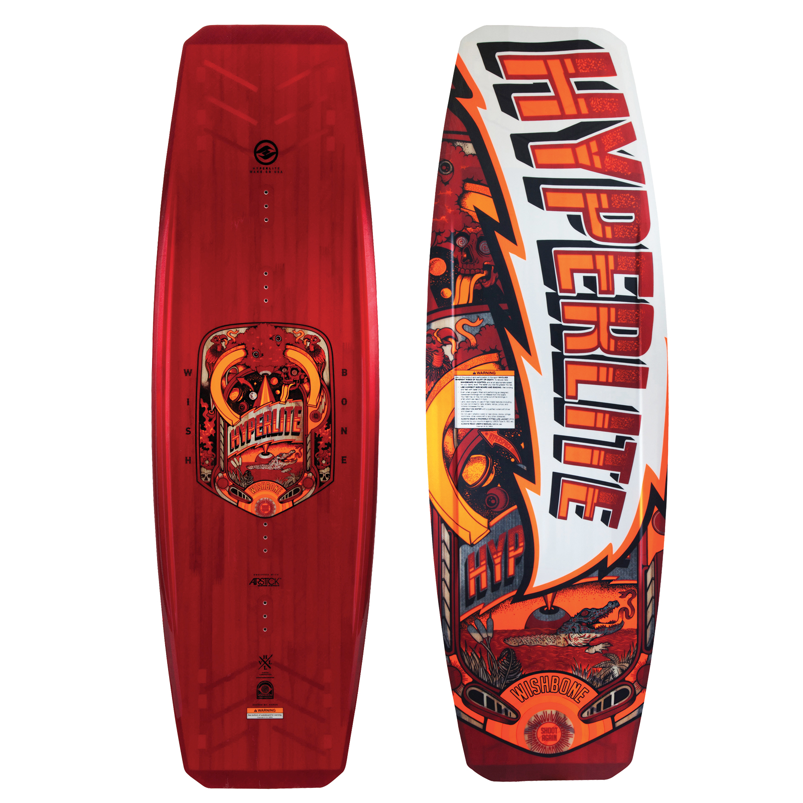 WISHBONE WAKEBOARD HYPERLITE 2017