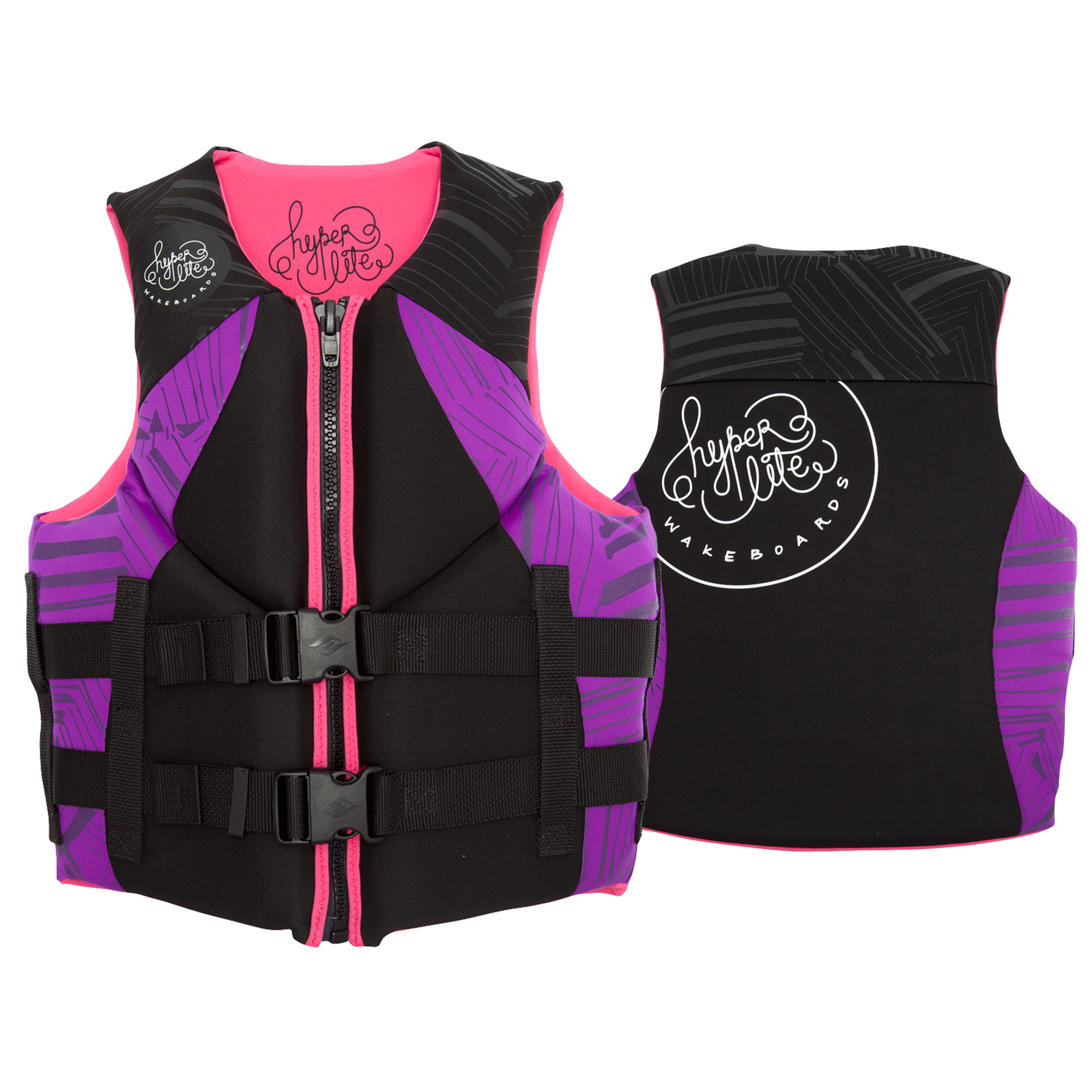 WOMENS INDY NEO VEST - PURPLE/PINK HYPERLITE 2017