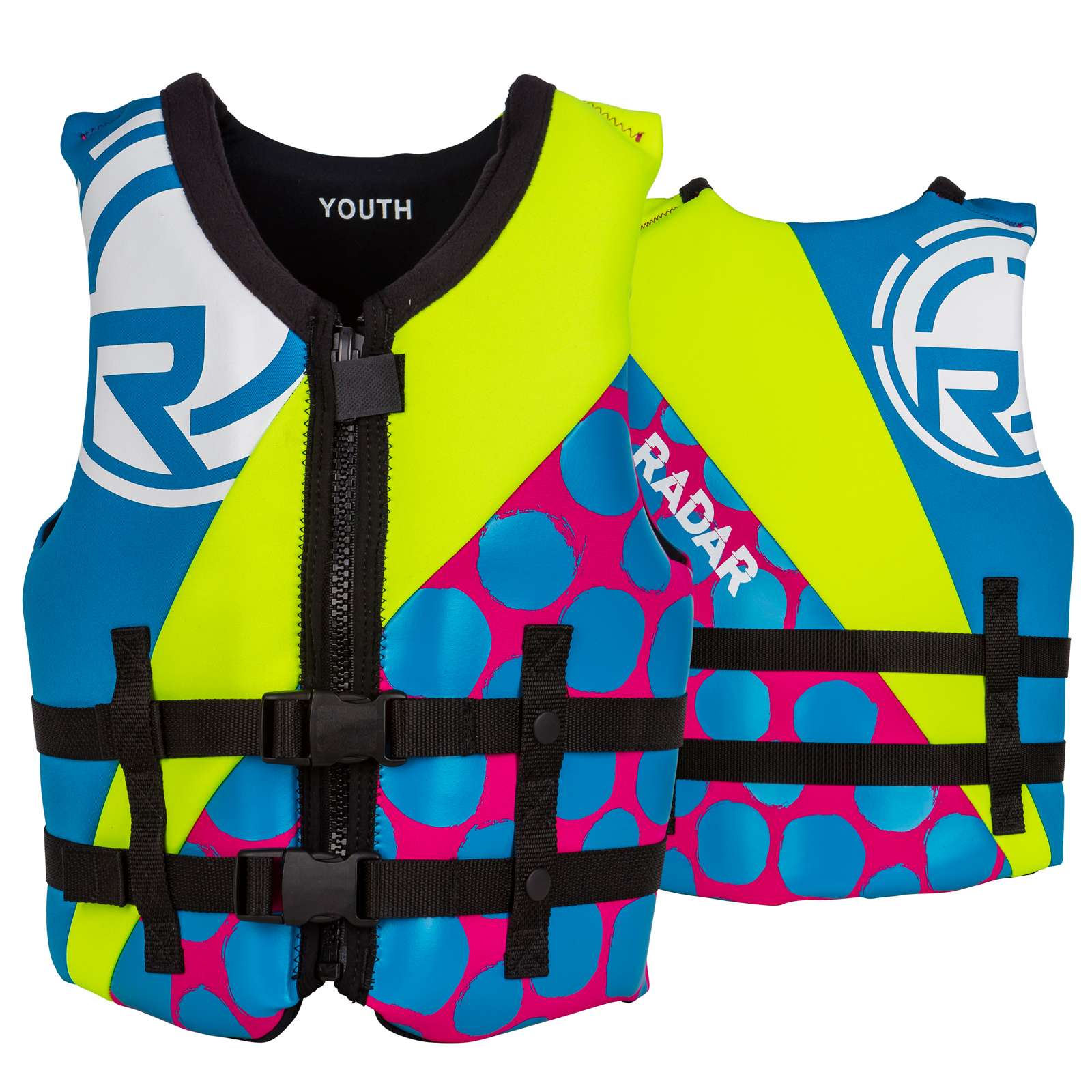 TRA GIRL'S YOUTH VEST RADAR 2017