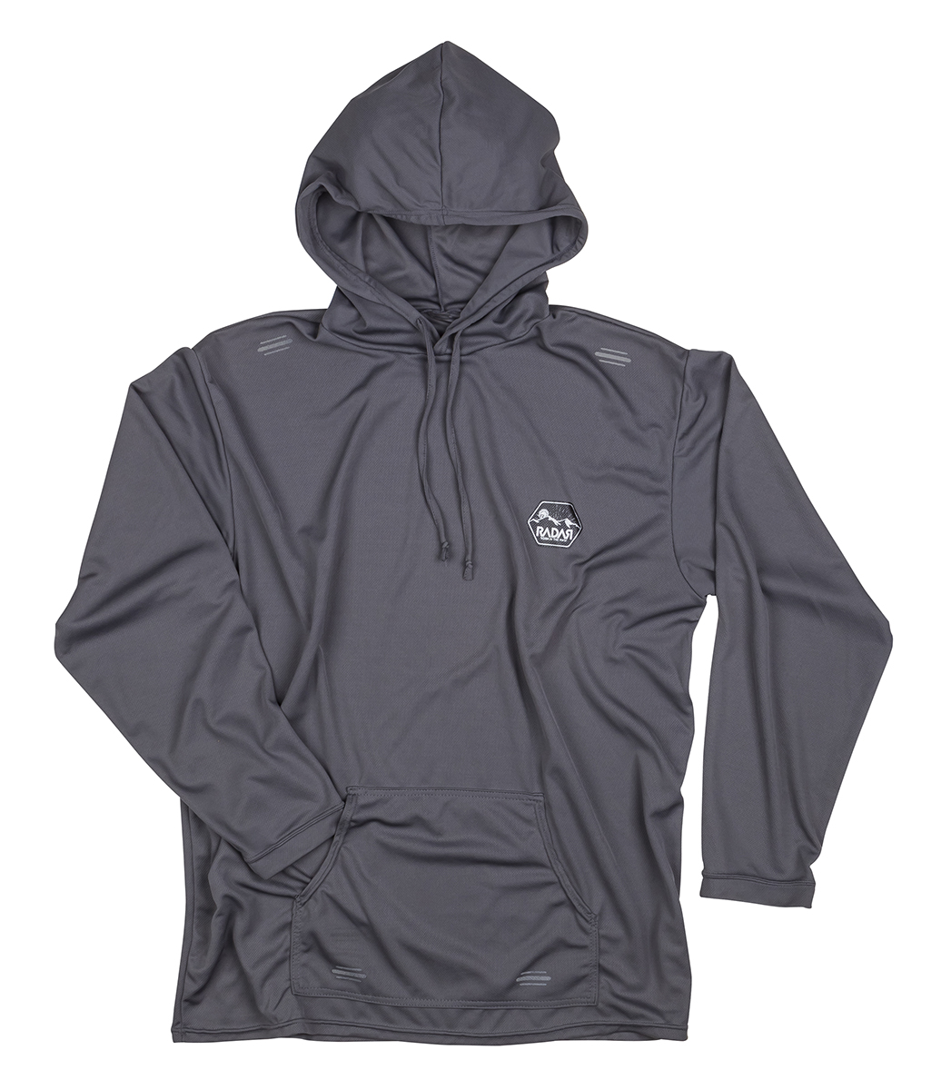 UV SOLAR BARRIER HOODIE - COOL GREY RADAR 2017