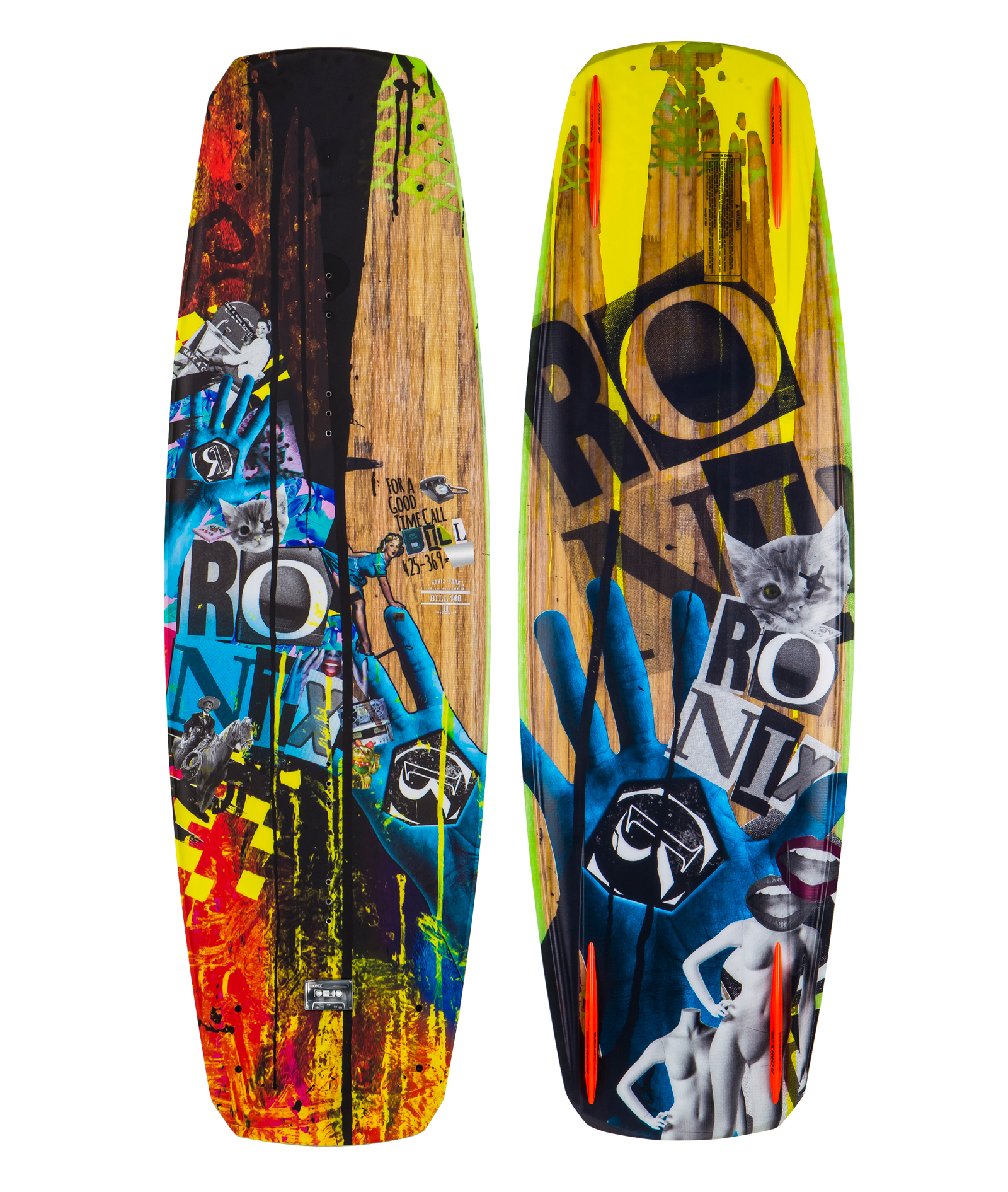 BILL MUTE CORE WAKEBOARD RONIX 2017