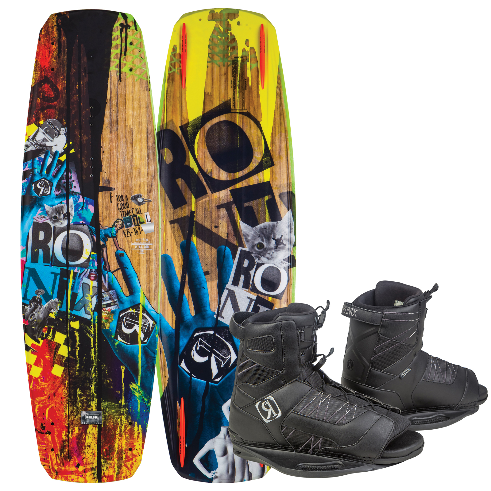 BILL 130 W/ DIVIDE EU 37-41.5/US 5-8.5 PACKAGE RONIX 2017