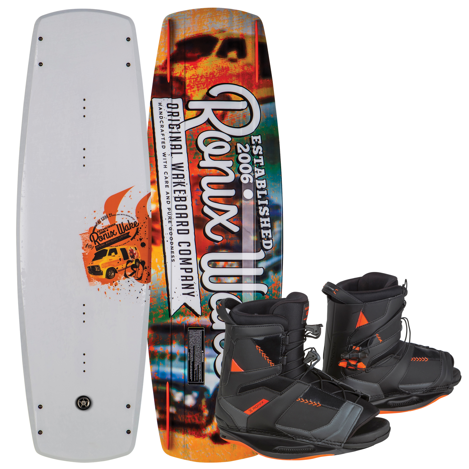 CODE 21 135 W/ NETWORK PACKAGE RONIX 2017
