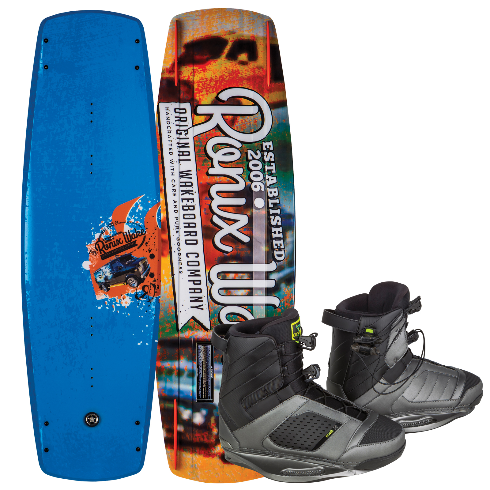 CODE 21 139 W/ COCKTAIL PACKAGE RONIX 2017
