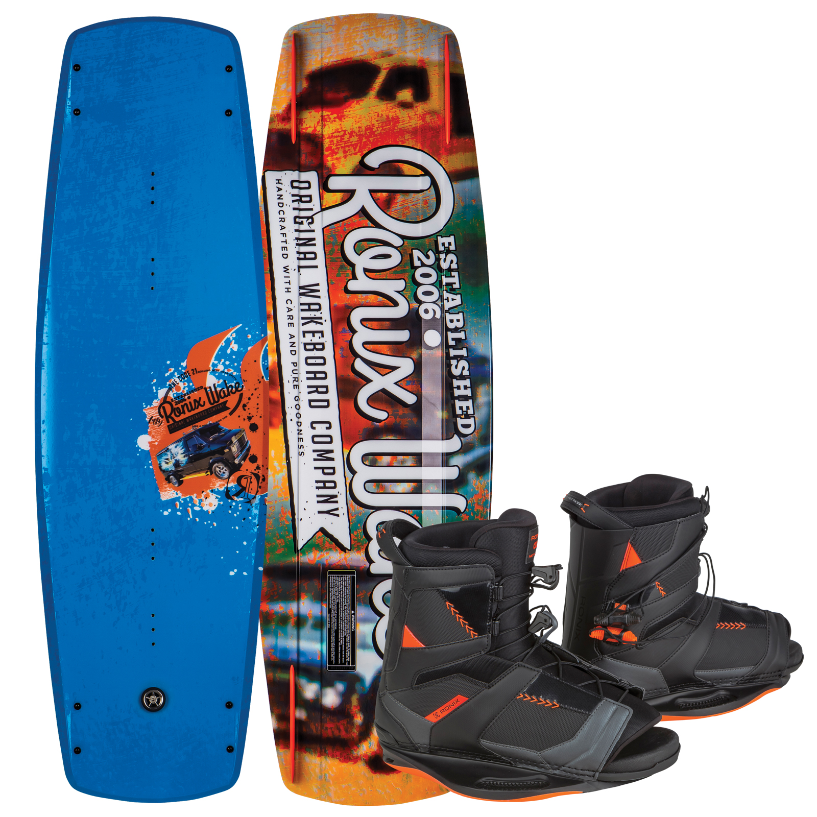 CODE 21 139 W/ NETWORK PACKAGE RONIX 2017