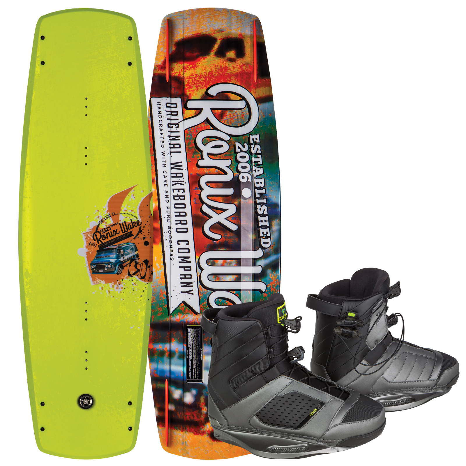 CODE 21 143 W/ COCKTAIL PACKAGE RONIX 2017