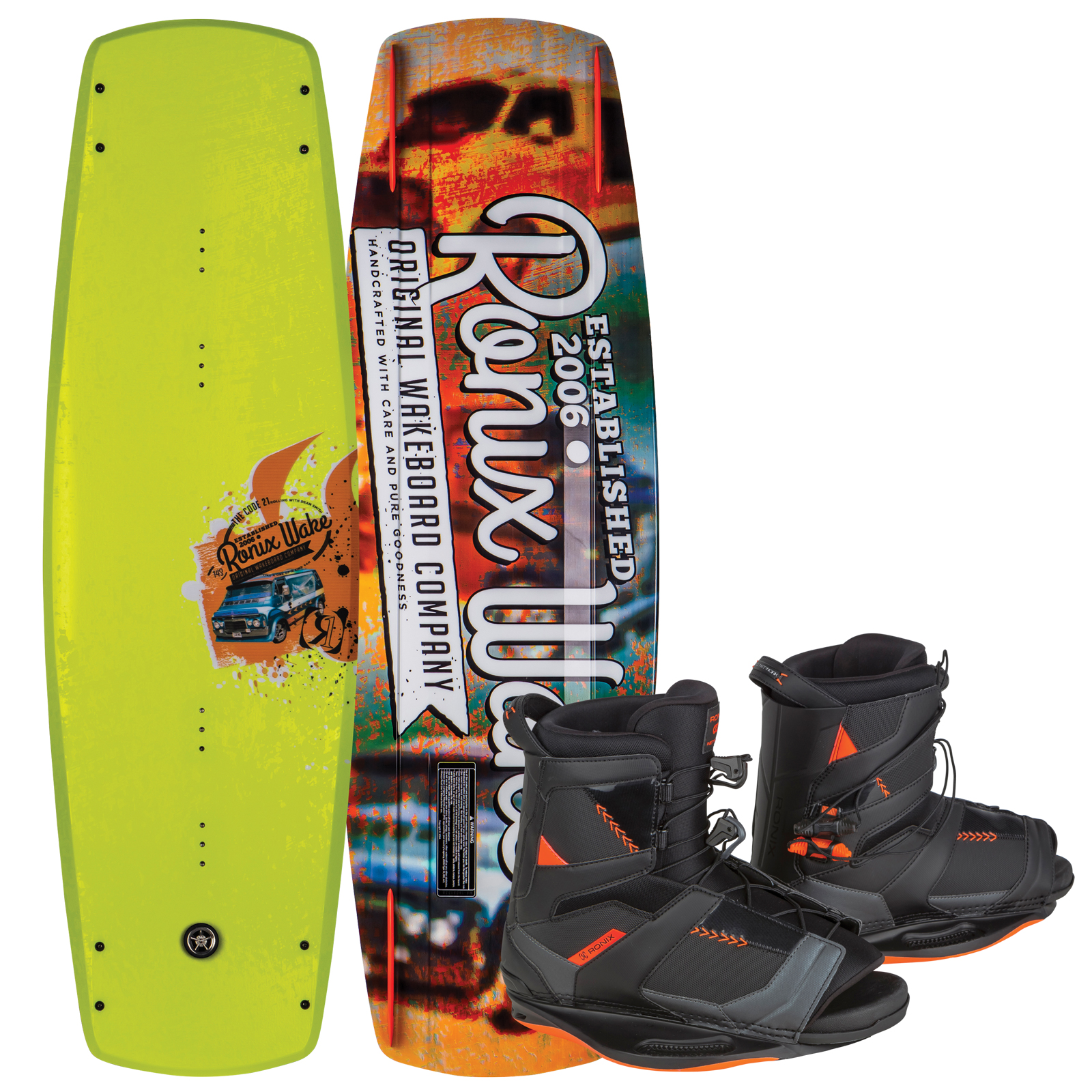 CODE 21 143 W/ NETWORK PACKAGE RONIX 2017