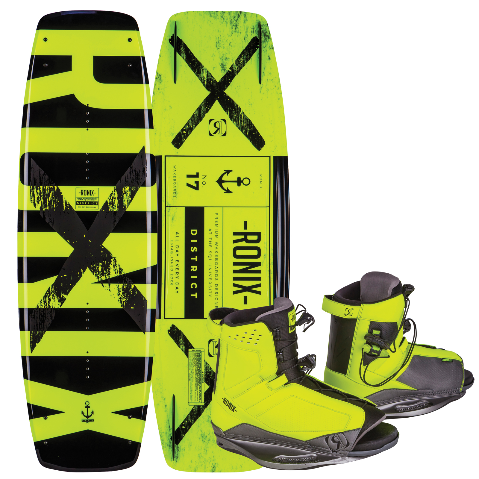 DISTRICT 143W/ DISTRICT PACKAGE RONIX 2017