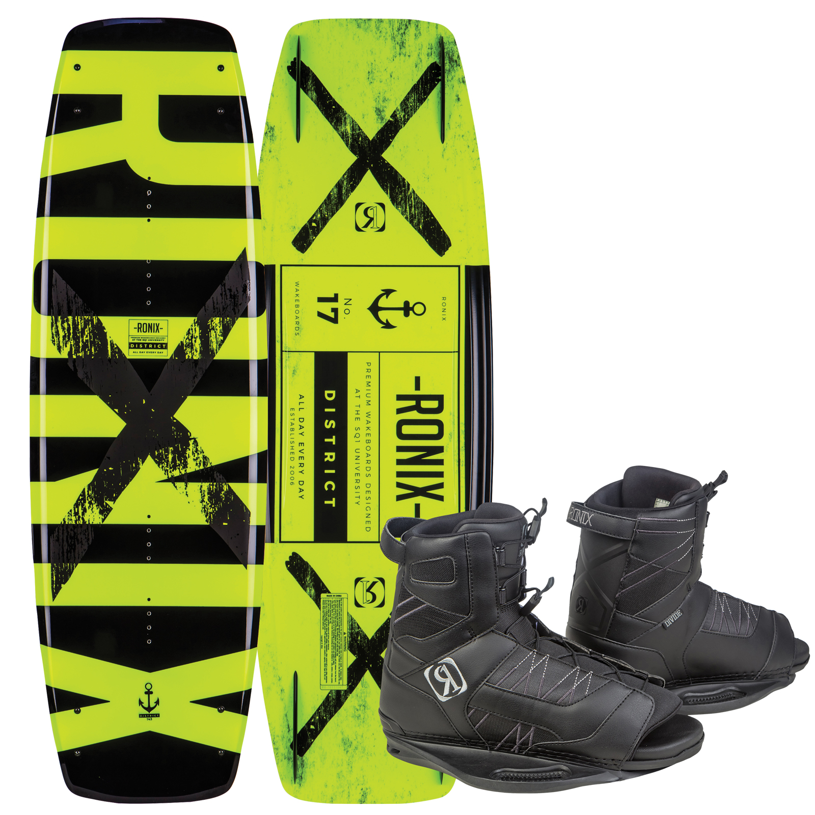 DISTRICT 143W/ DIVIDE PACKAGE RONIX 2017