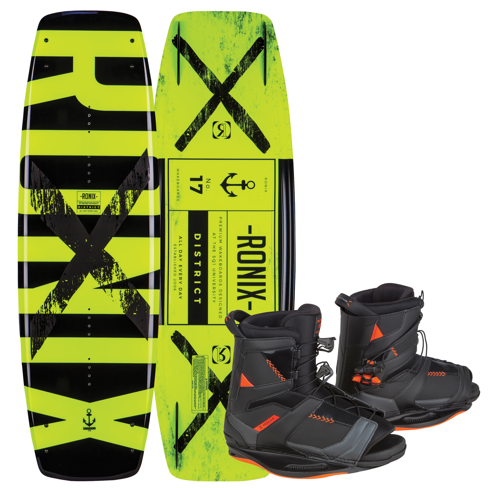 DISTRICT 138 W/ NETWORK PACKAGE RONIX 2017