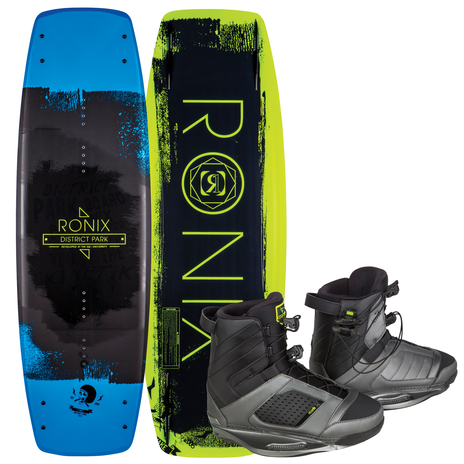 DISTRICT PARK 129 W/ COCKTAIL PACKAGE RONIX 2017
