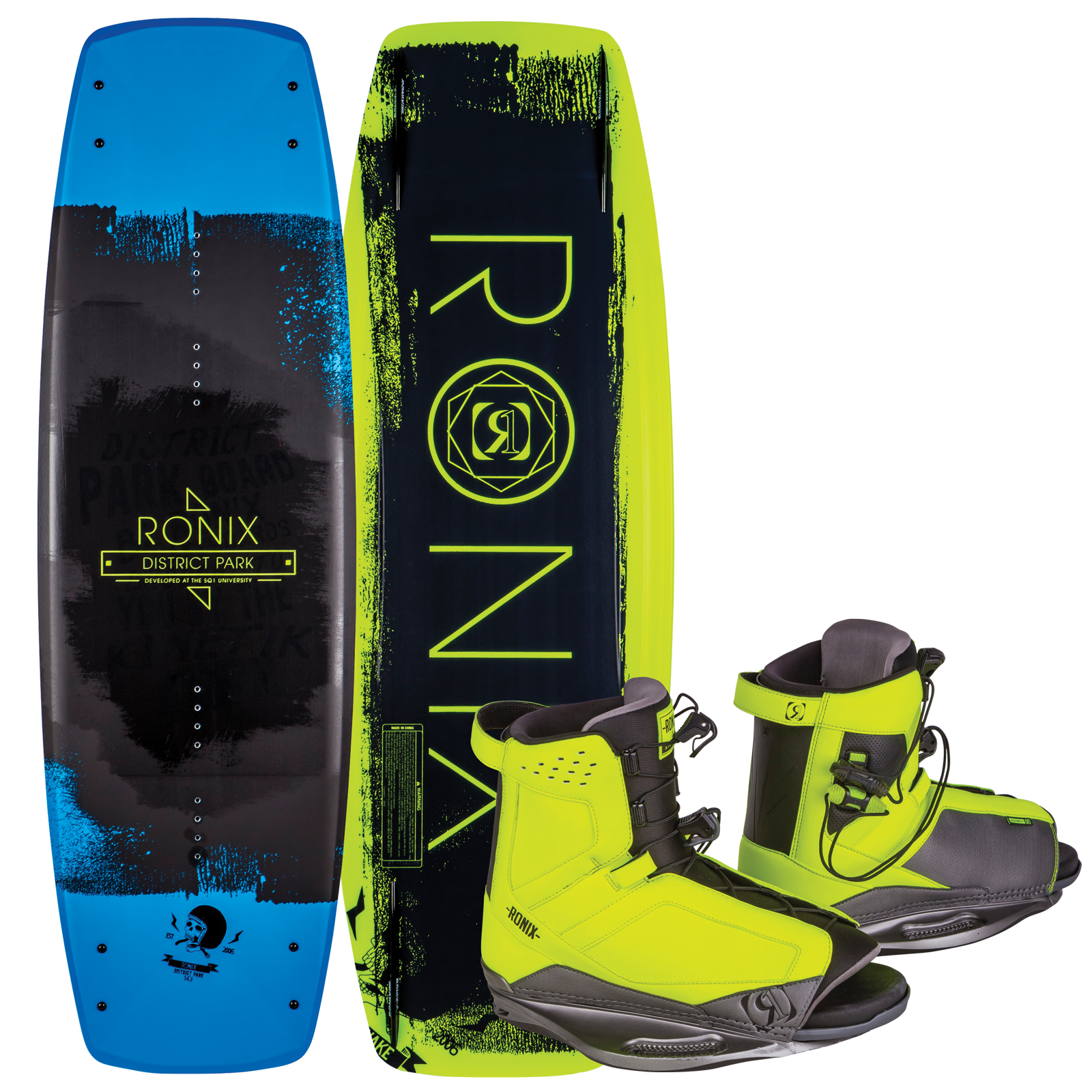 DISTRICT PARK 129 W/ DISTRICT PACKAGE RONIX 2017