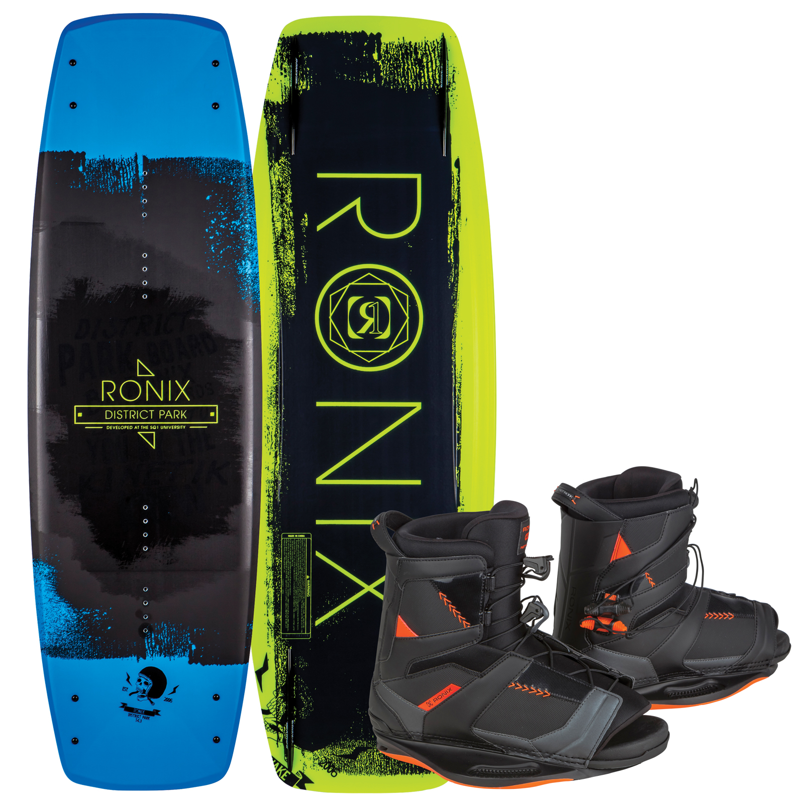 DISTRICT PARK 129 W/ NETWORK PACKAGE RONIX 2017