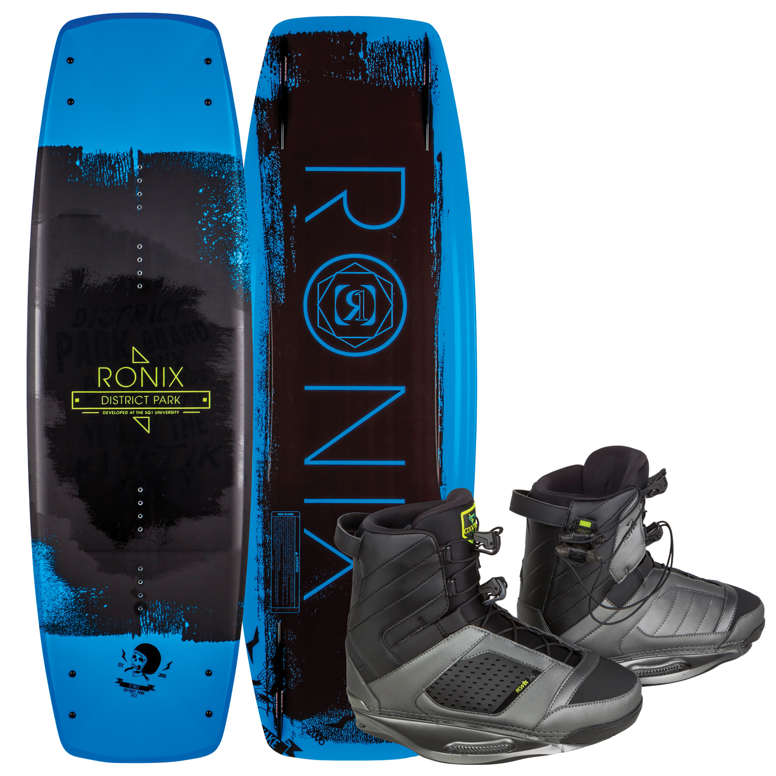 DISTRICT PARK 134 W/ COCKTAIL PACKAGE RONIX 2017