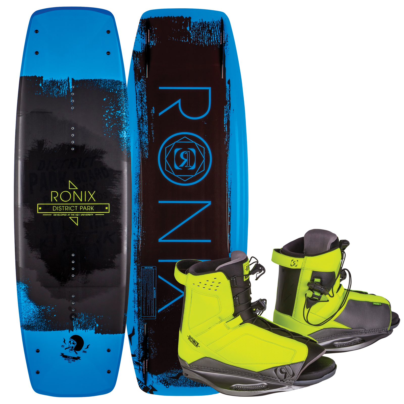 DISTRICT PARK 134 W/ DISTRICT PACKAGE RONIX 2017