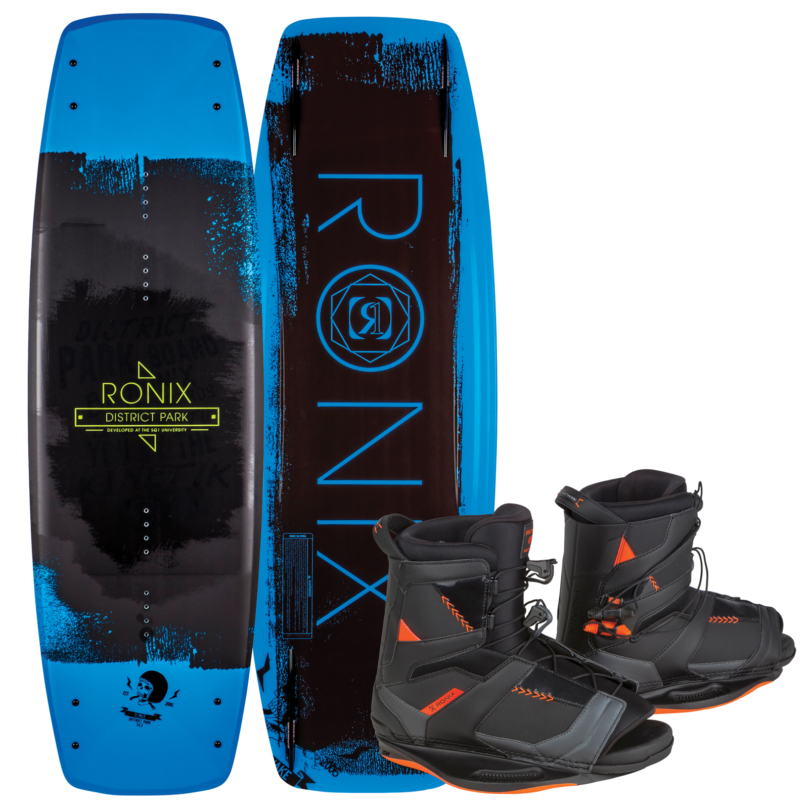 DISTRICT PARK 134 W/ NETWORK PACKAGE RONIX 2017