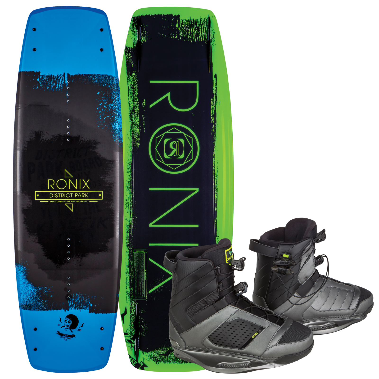 DISTRICT PARK 138 W/ COCKTAIL PACKAGE RONIX 2017