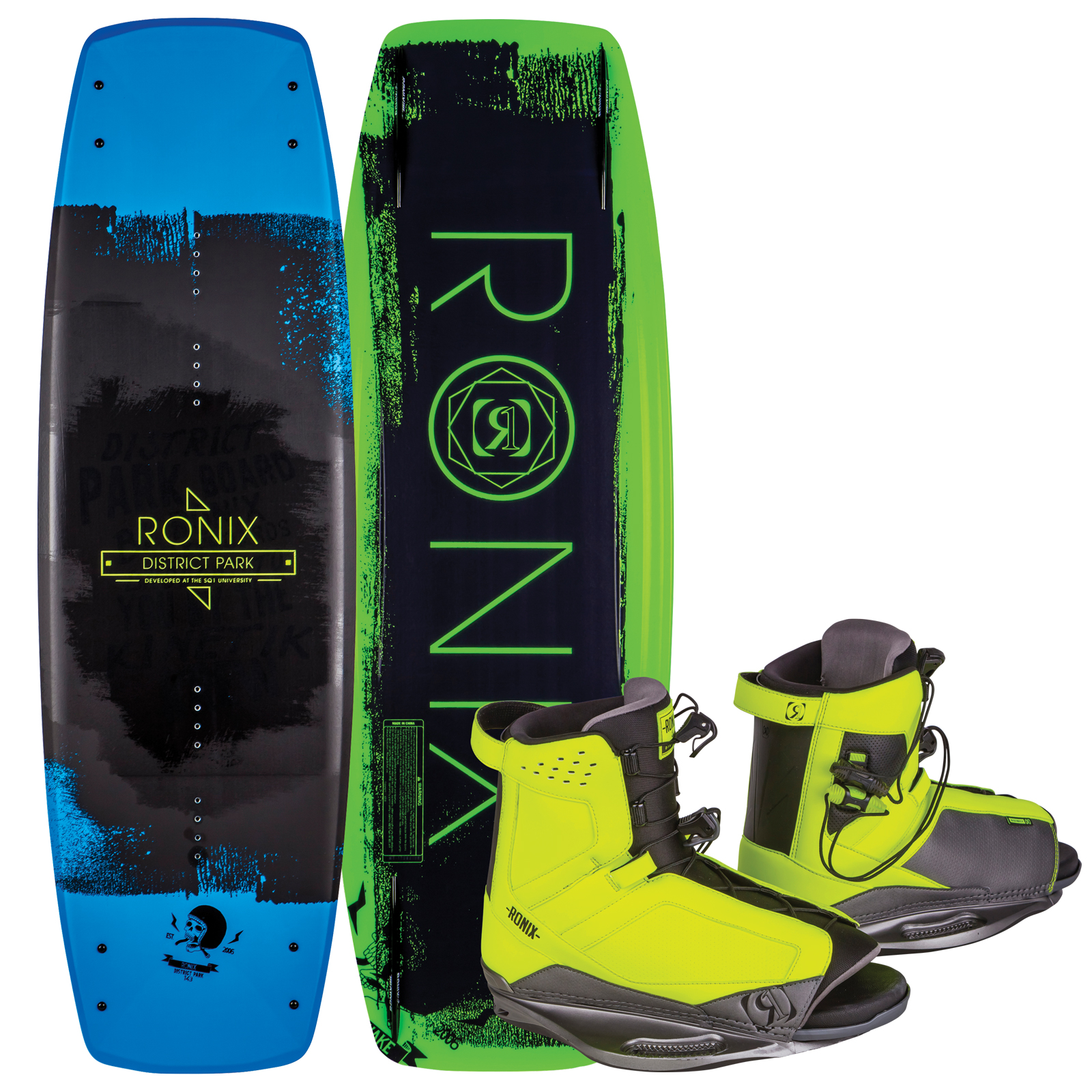 DISTRICT PARK 138 W/ DISTRICT PACKAGE RONIX 2017