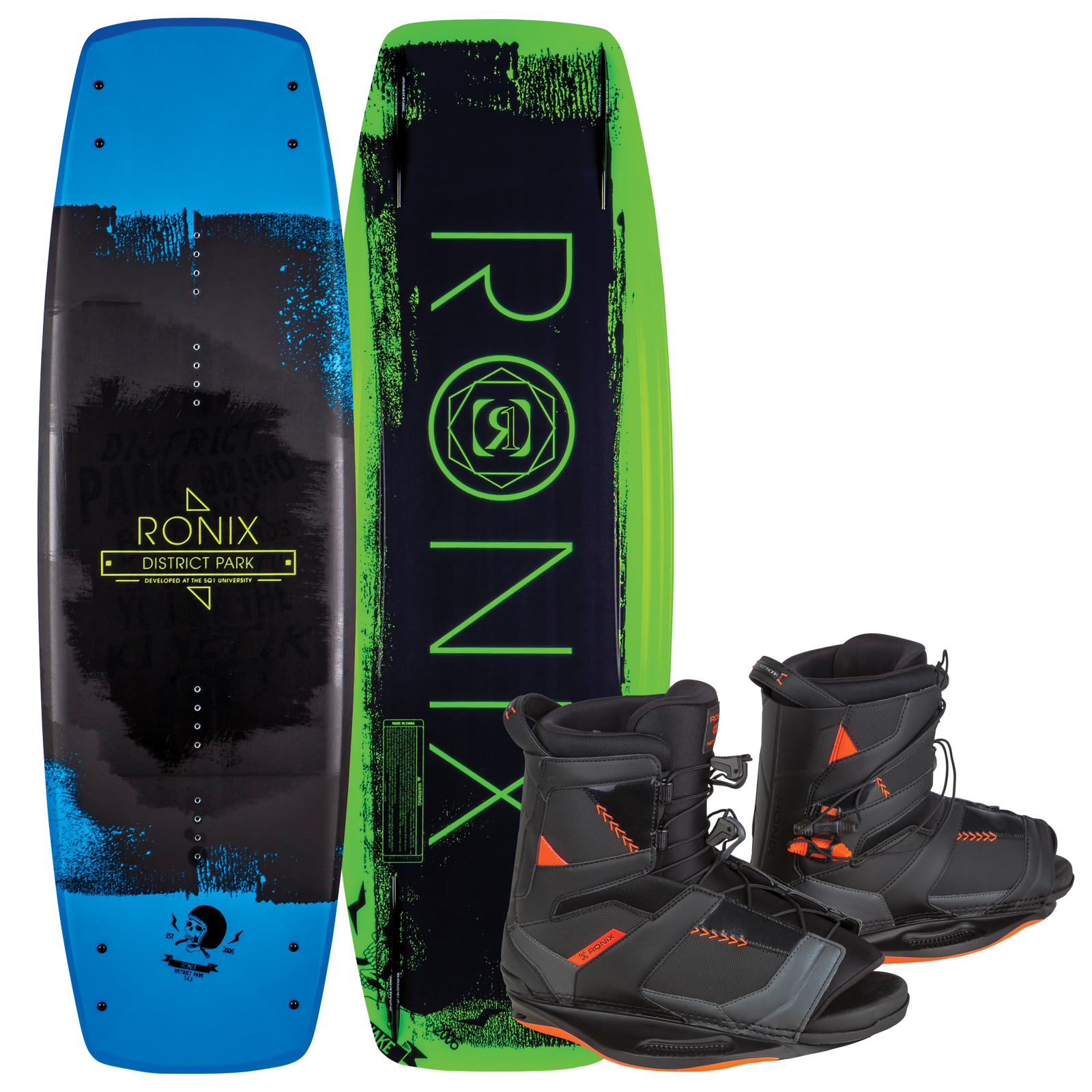 DISTRICT PARK 138 W/ NETWORK PACKAGE RONIX 2017