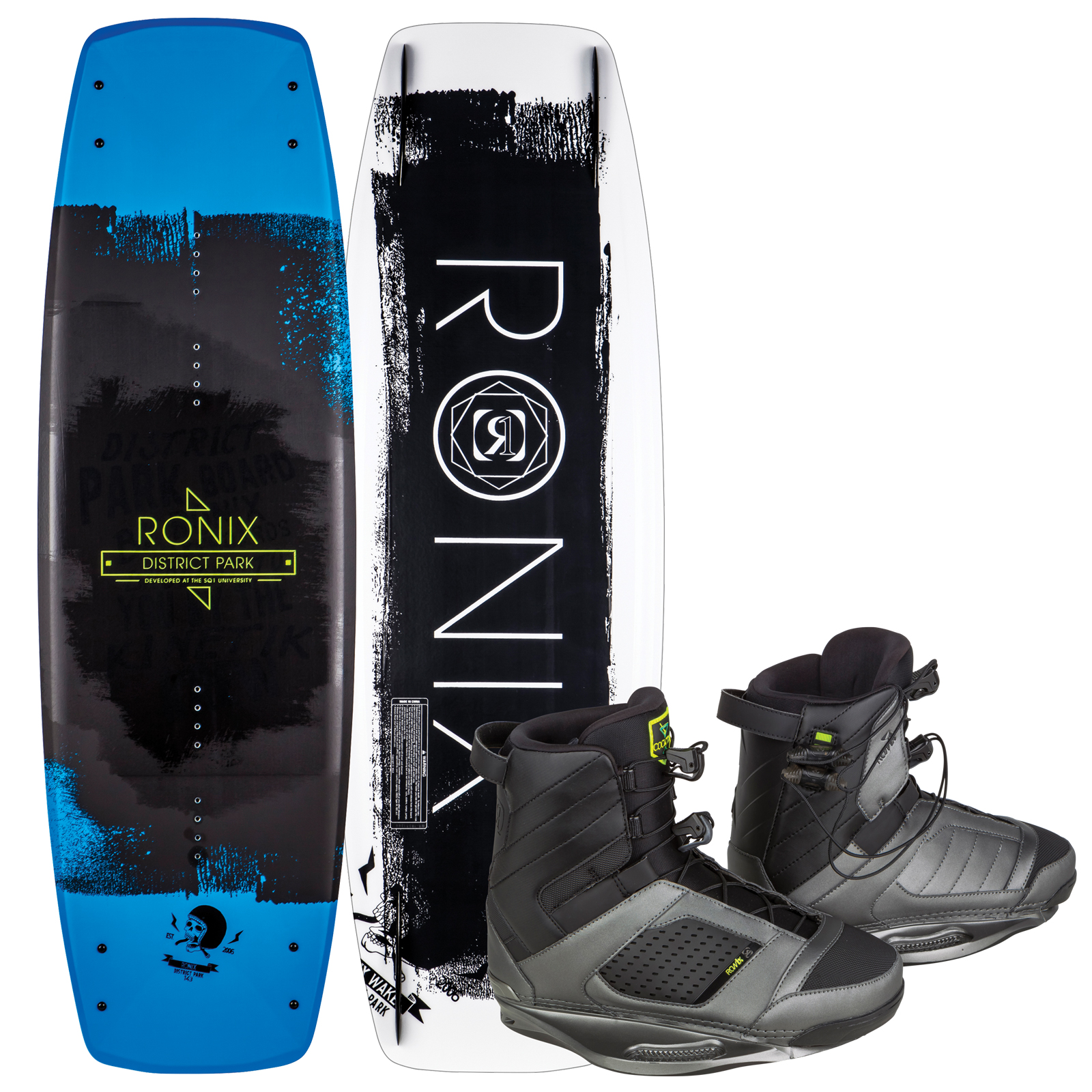 DISTRICT PARK 143 W/ COCKTAIL PACKAGE RONIX 2017