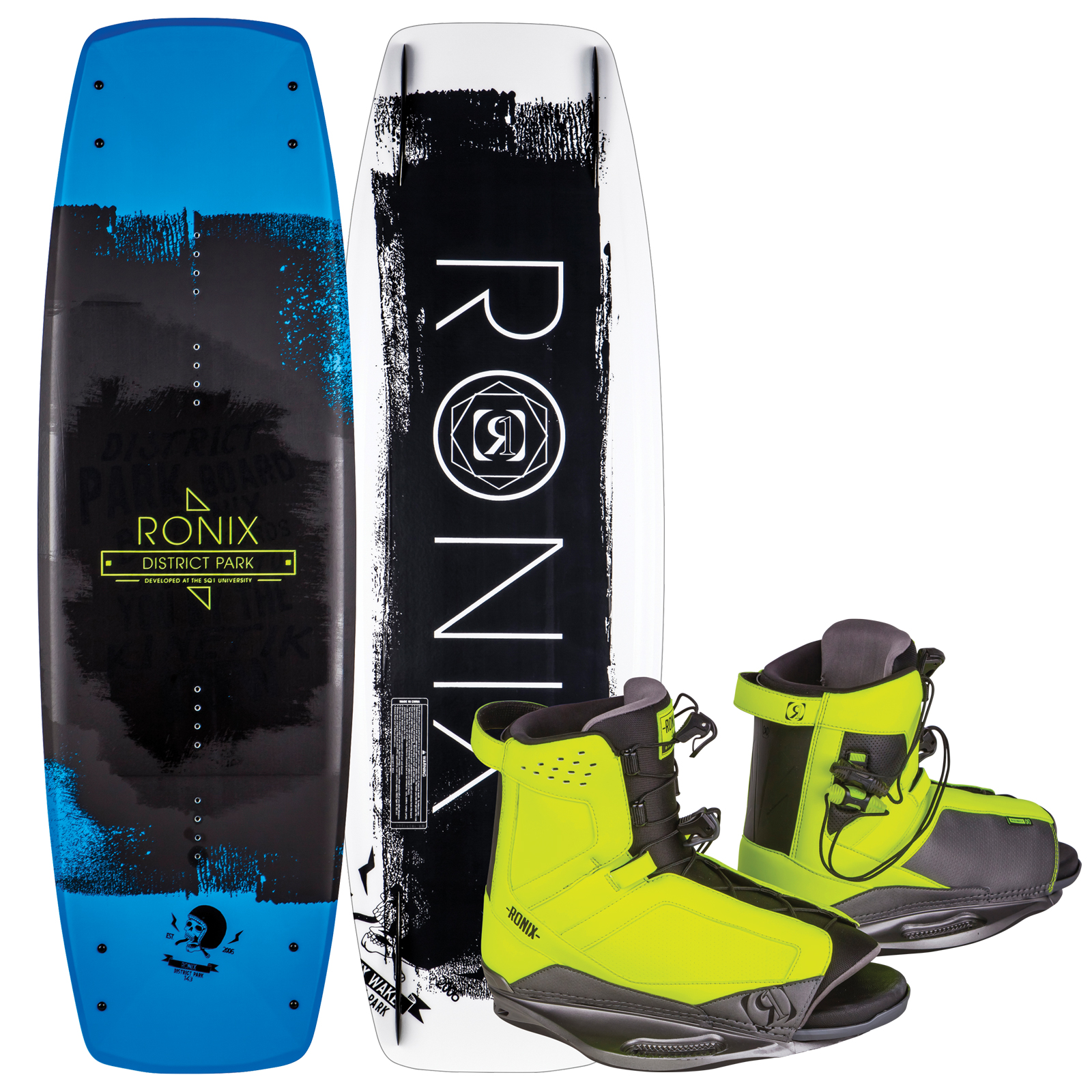 DISTRICT PARK 143 W/ DISTRICT PACKAGE RONIX 2017