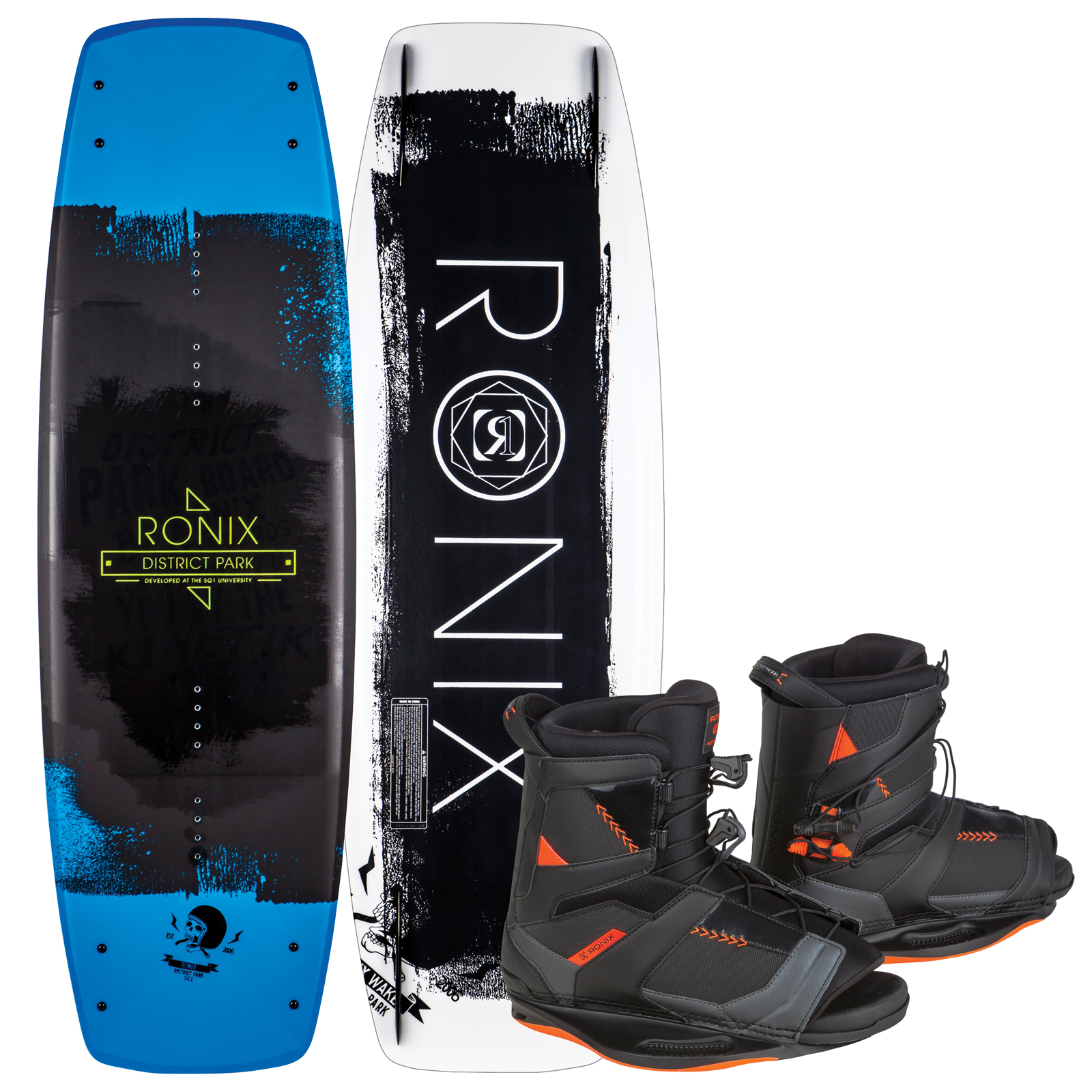 DISTRICT PARK 143 W/ NETWORK PACKAGE RONIX 2017