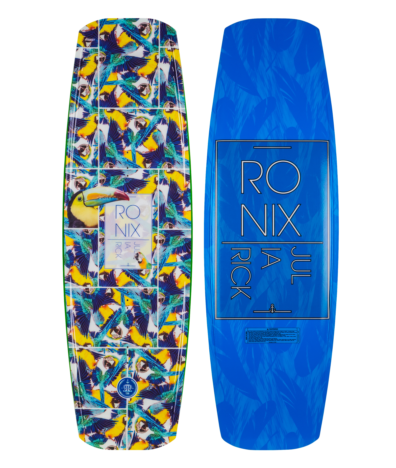JULIA RICK FLEX BOX 2 138 WAKEBOARD RONIX 2017