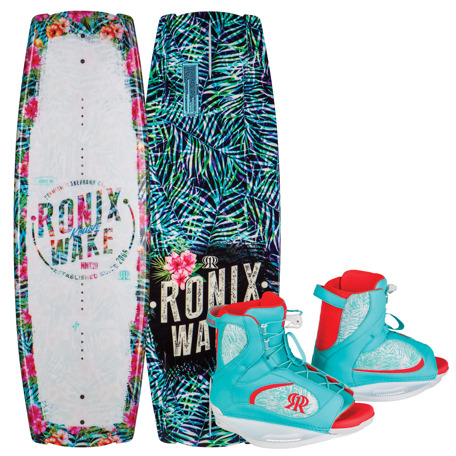 KRUSH 134 W/ LUXE PACKAGE RONIX 2017