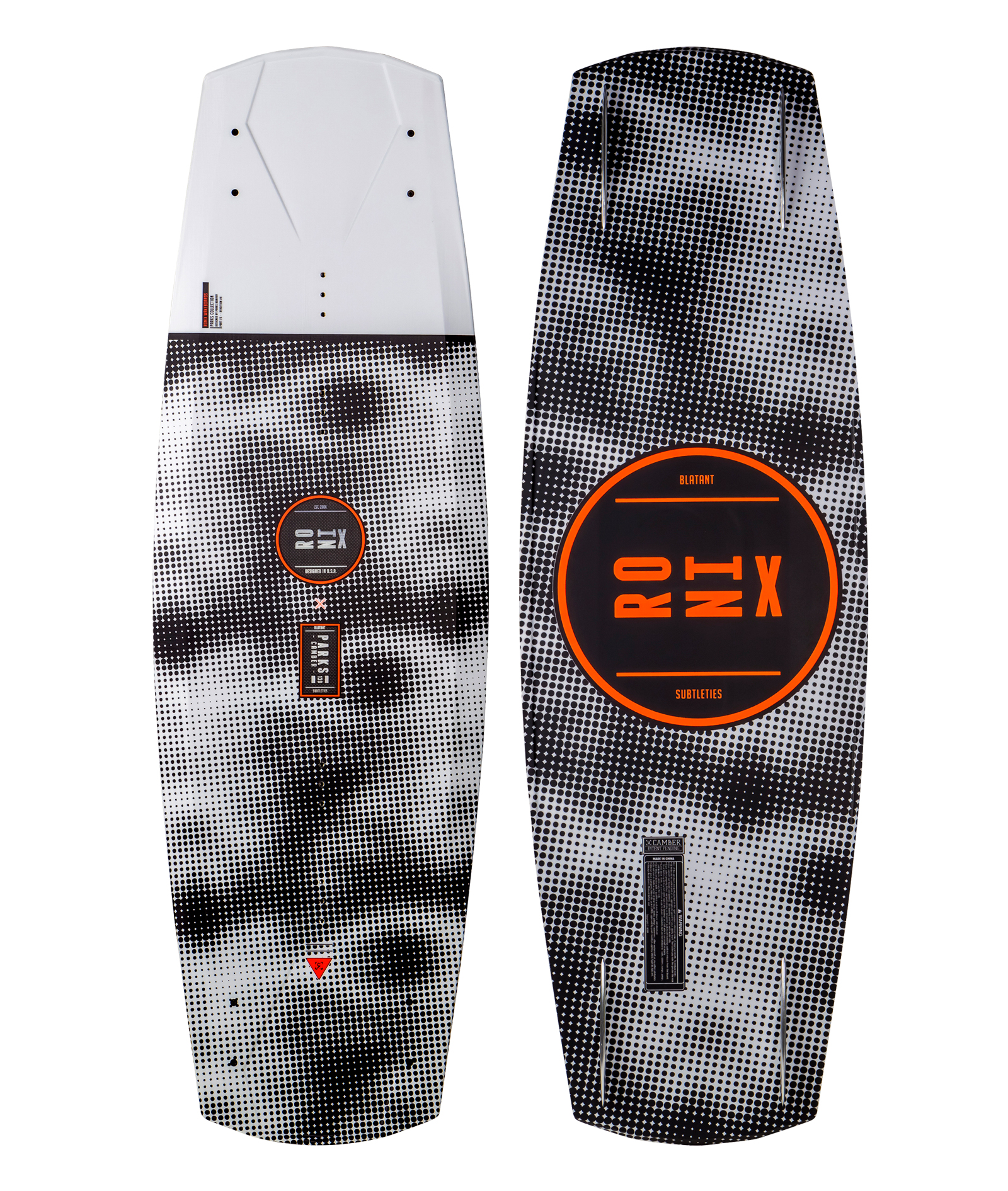 PARKS I-BEAM AIR CORE 2 WAKEBOARD RONIX 2017