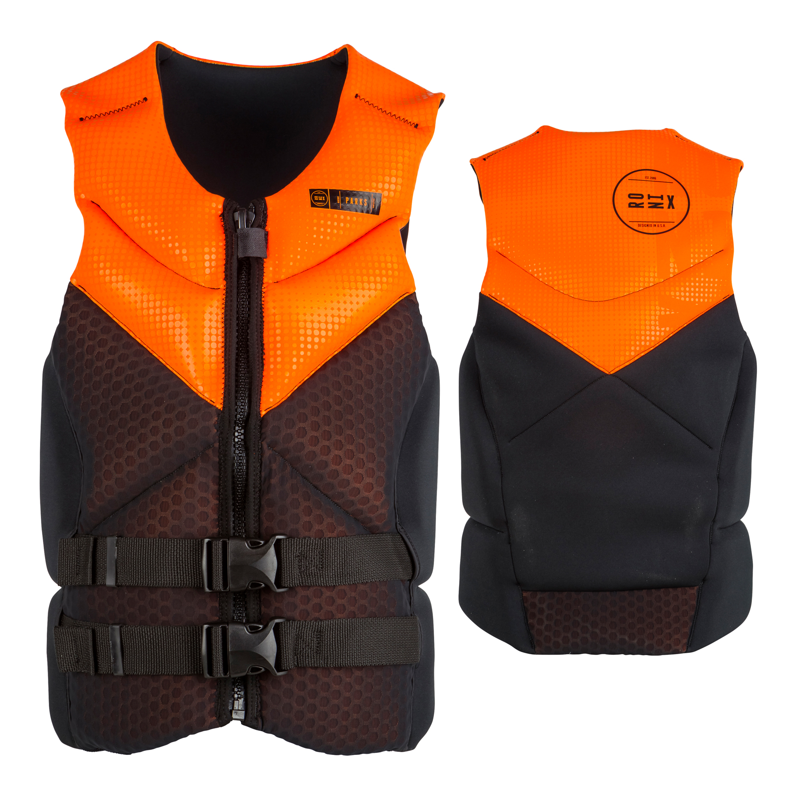 PARKS CAPELLA VEST ORANGE RONIX 2017