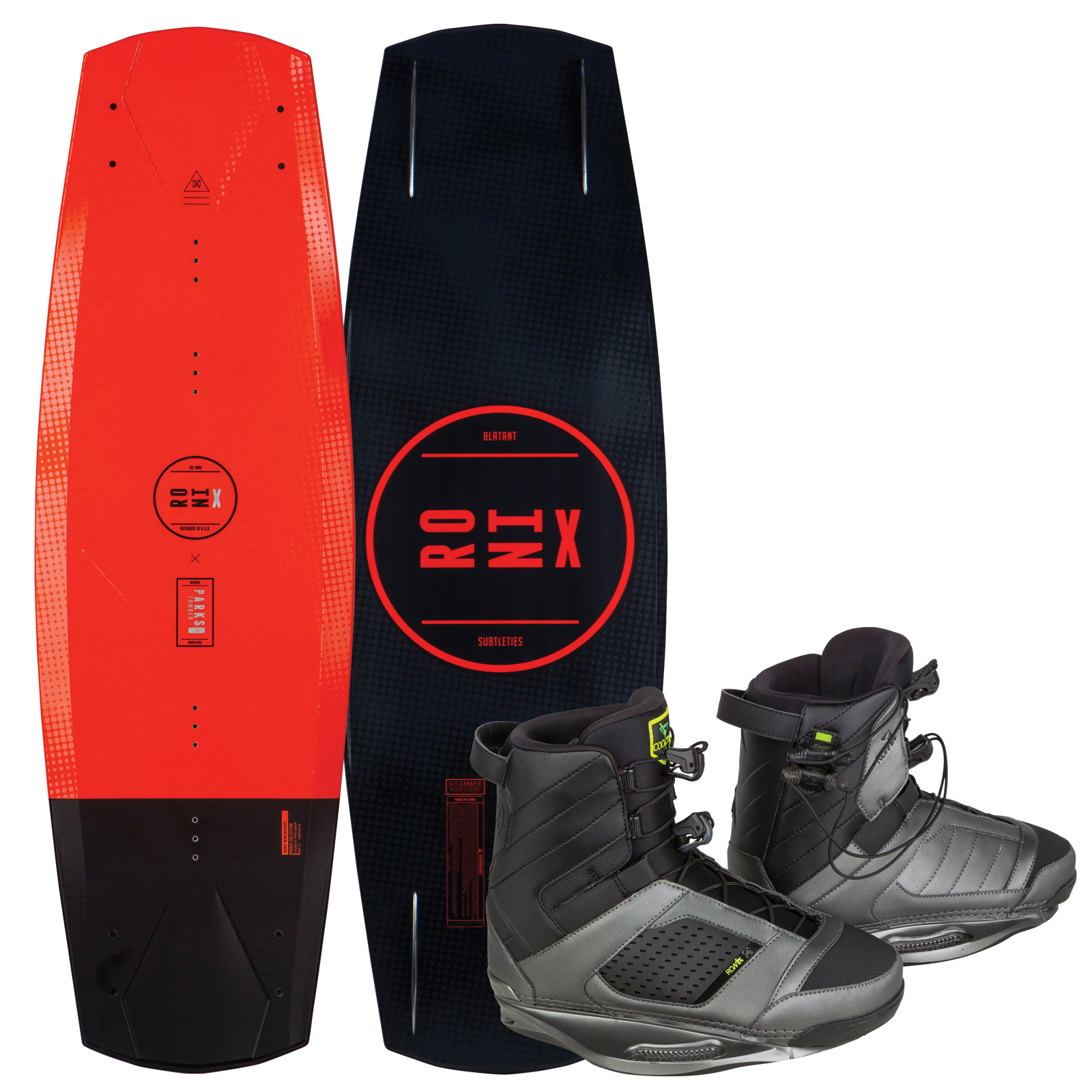 PARKS MODELLO 134 W/ COCKTAIL PACKAGE RONIX 2017
