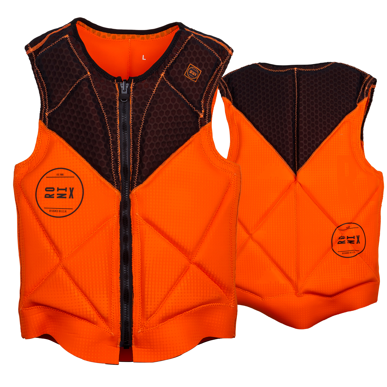 PARKS ATHLETIC CUT REVERSIBLE IMPACT VEST RONIX 2017