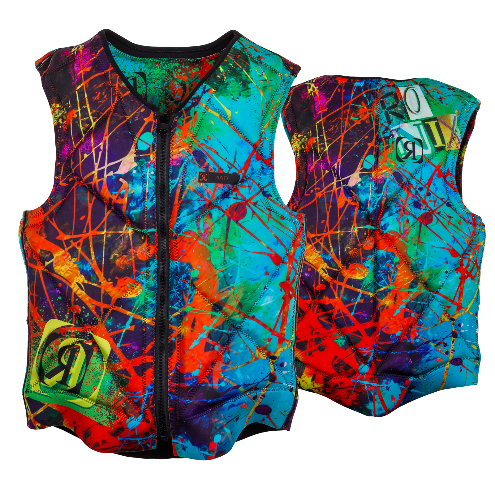 PARTY ATHLETIC CUT REVERSIBLE IMPACT VEST RONIX 2017
