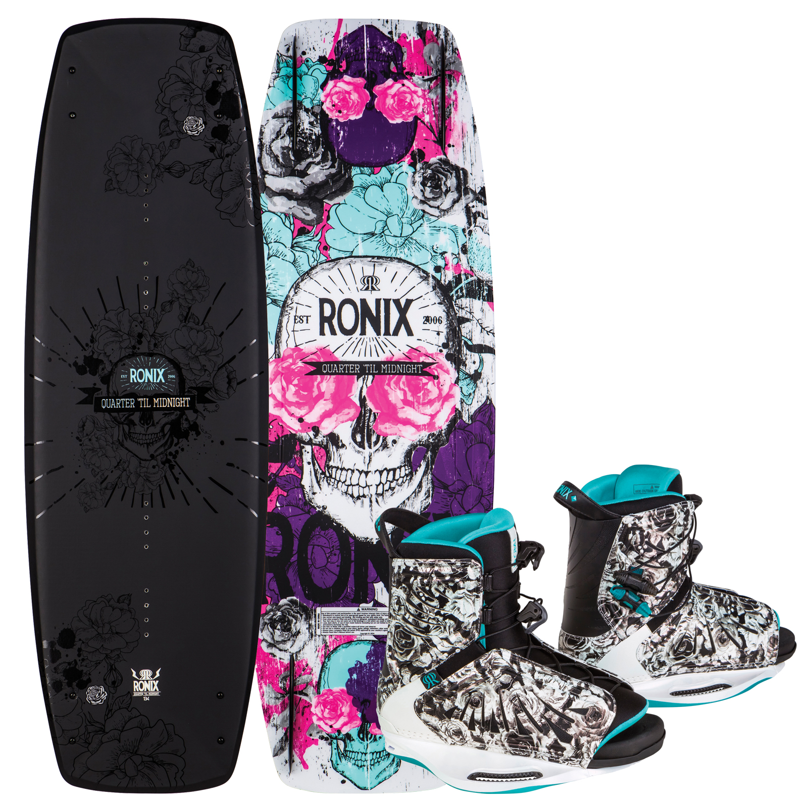QUARTER 'TIL MIDNIGHT 134 W/ HALO PACKAGE RONIX 2017