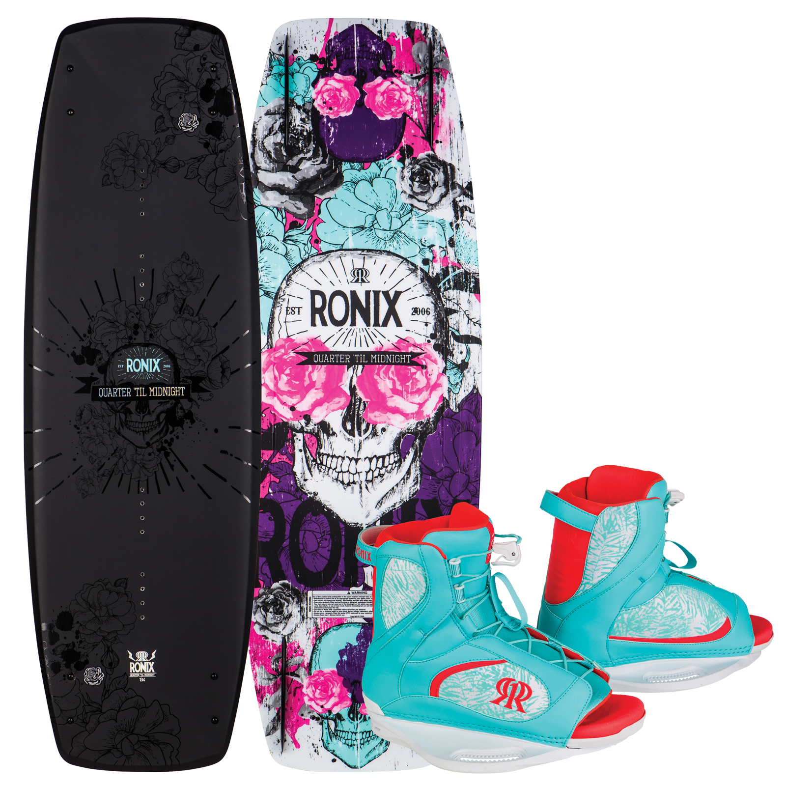 QUARTER 'TIL MIDNIGHT 134 PACKAGE RONIX 2017