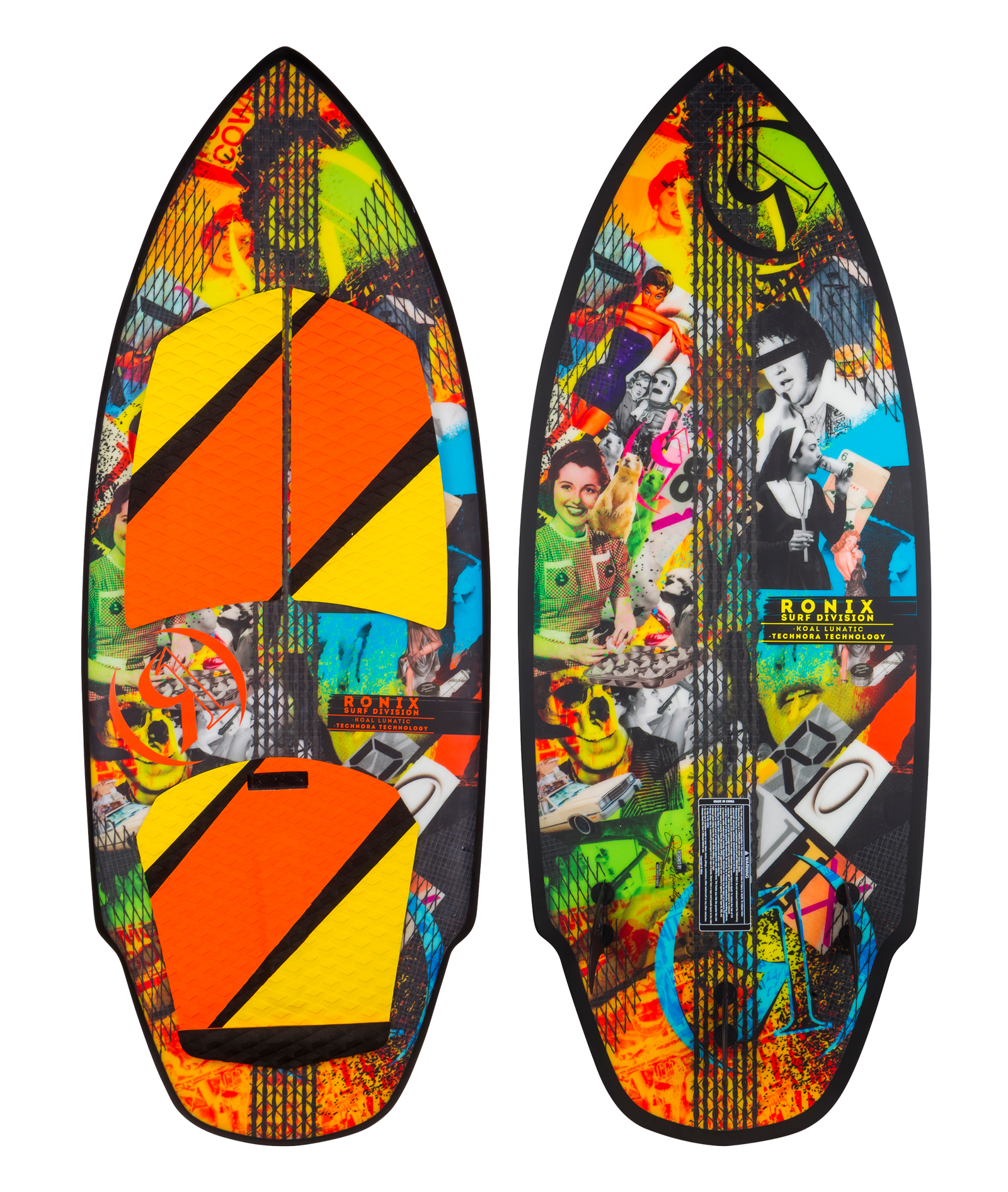 KOAL TECHNORA THE LUNATIC WAKESURFER RONIX 2017