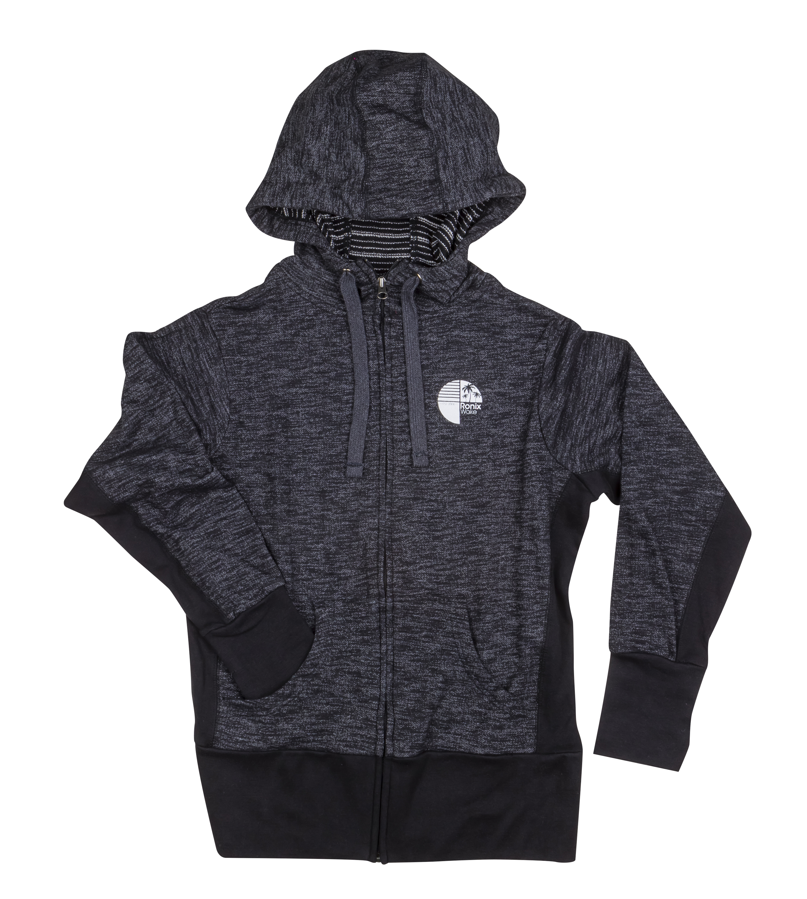 WOMEN'S TROPICAL ZIP-UP HOODIE RONIX 2017