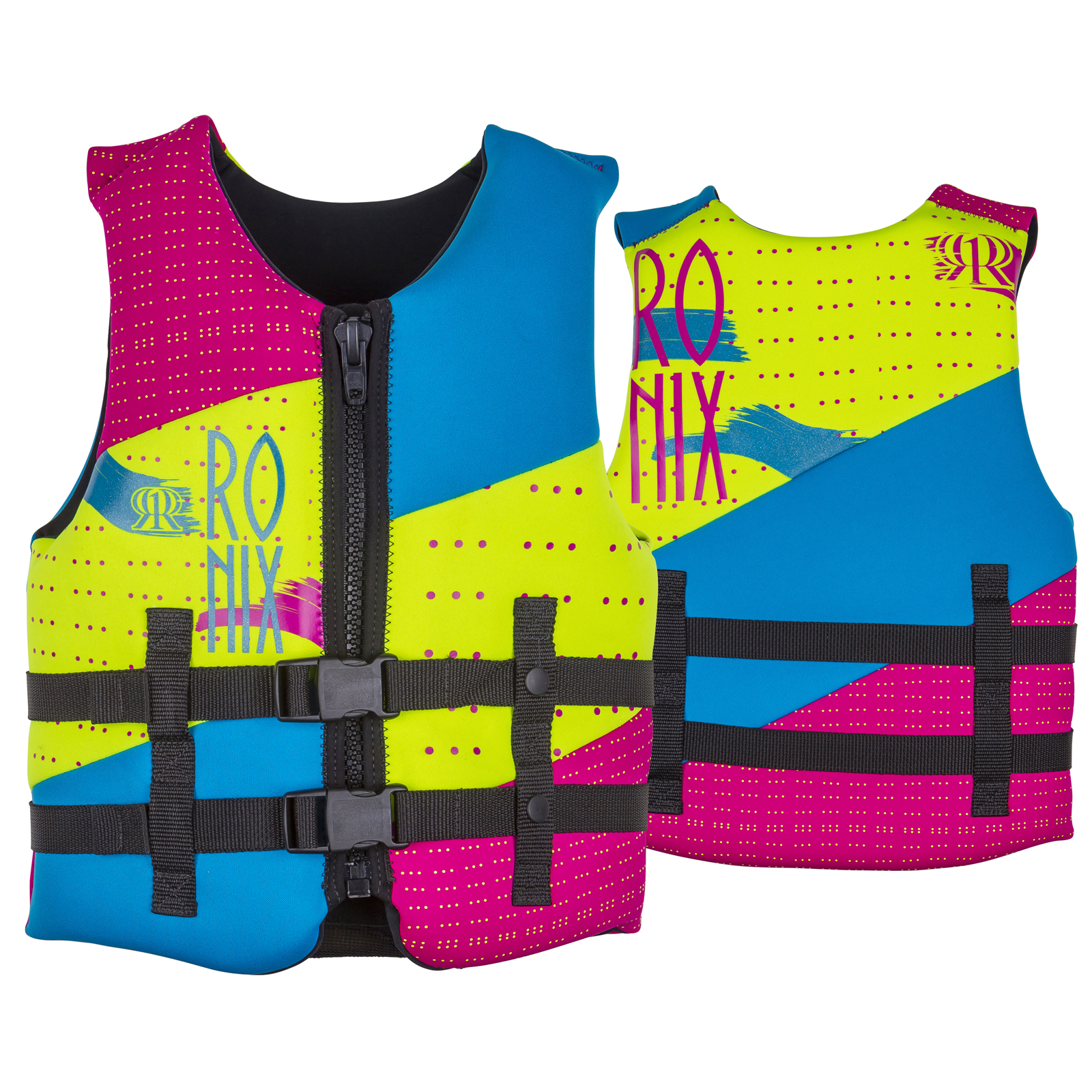 AUGUST GIRL'S LIFE VEST - YOUTH 22-40KG RONIX 2018