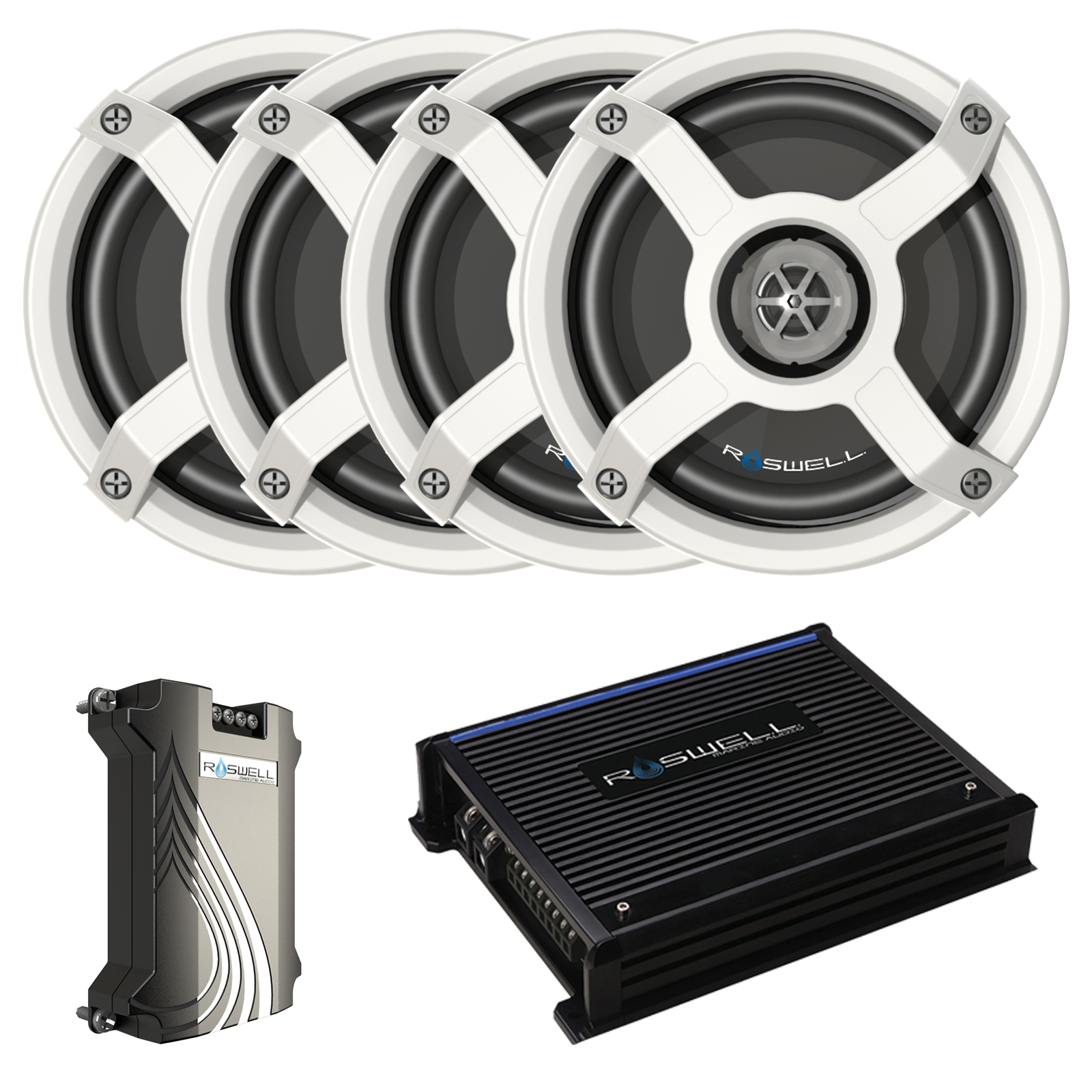 MAINE AUDIO 6510 IN-BOAT SPEAKER PACKAGE - WHITE ROSWELL 2018