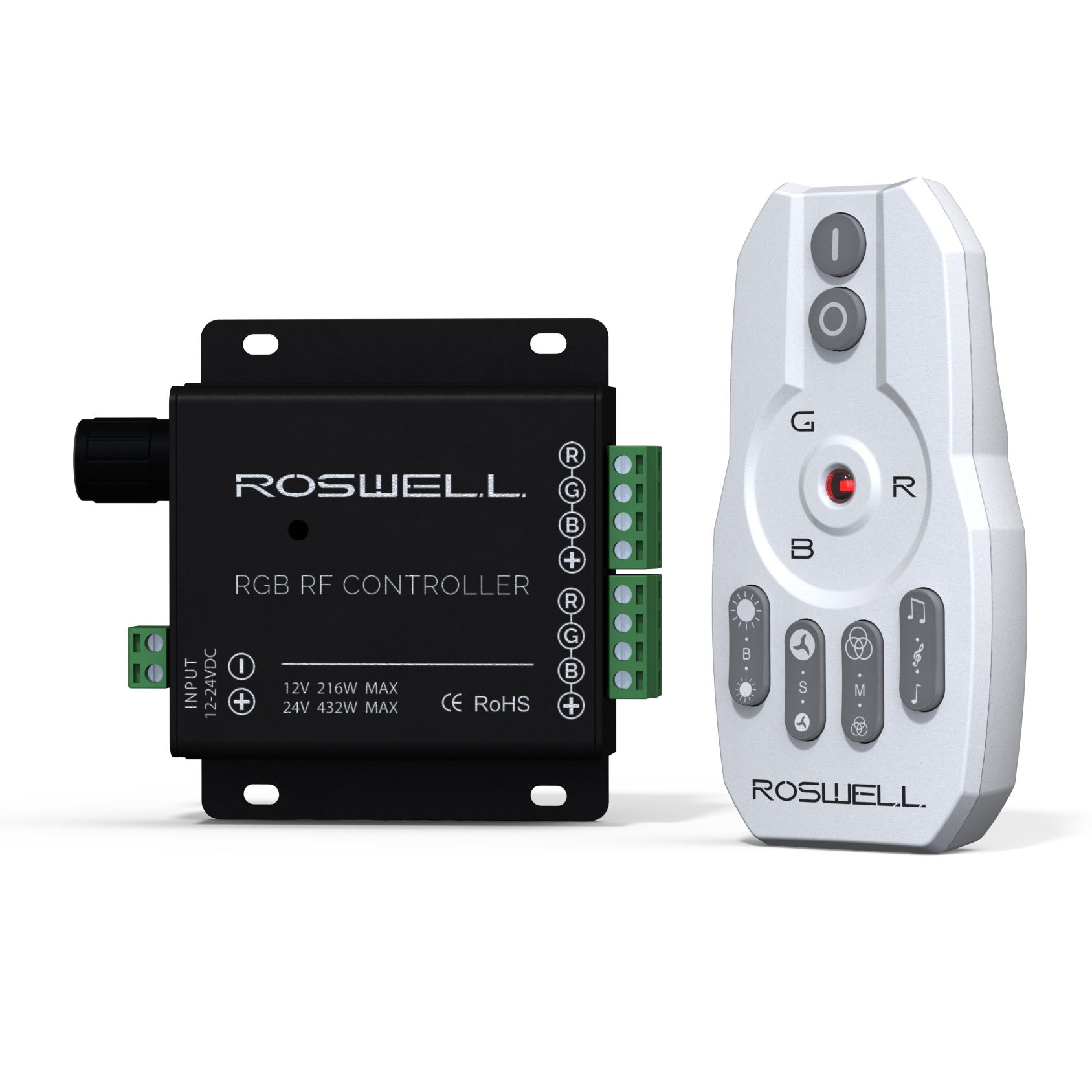 MARINE AUDIO RGB REMOTE & CONTROLLER PACKAGE ROSWELL 2018