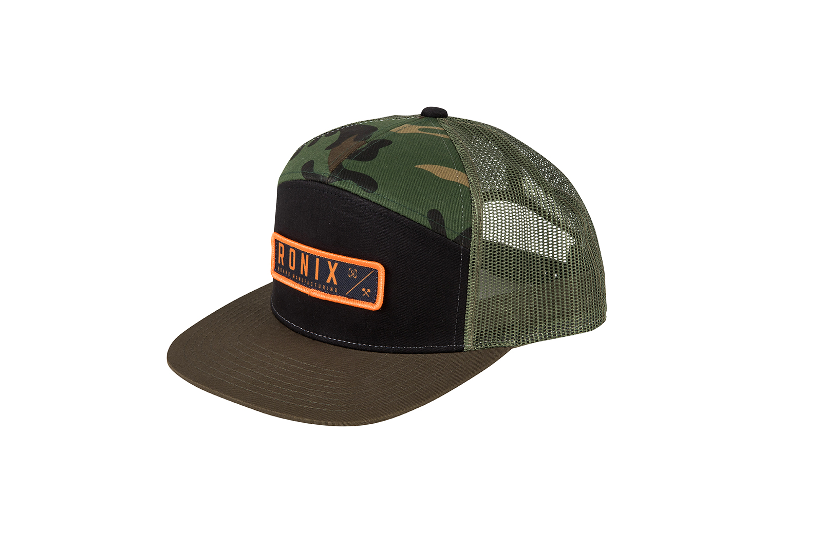 7 PANEL HUNTER SNAP BACK HAT OSFA RONIX 2018
